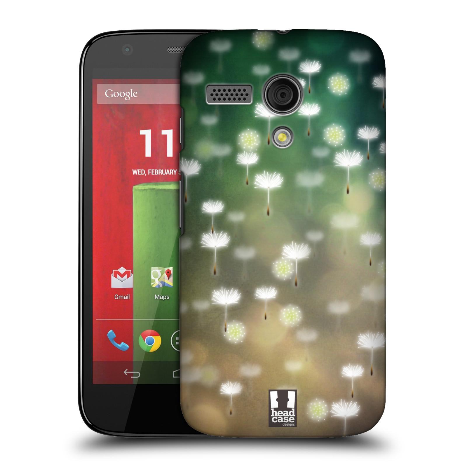 Plastové pouzdro na mobil Motorola Moto G HEAD CASE Pampeliškové padáčky (Kryt či obal na mobilní telefon Motorola Moto G)