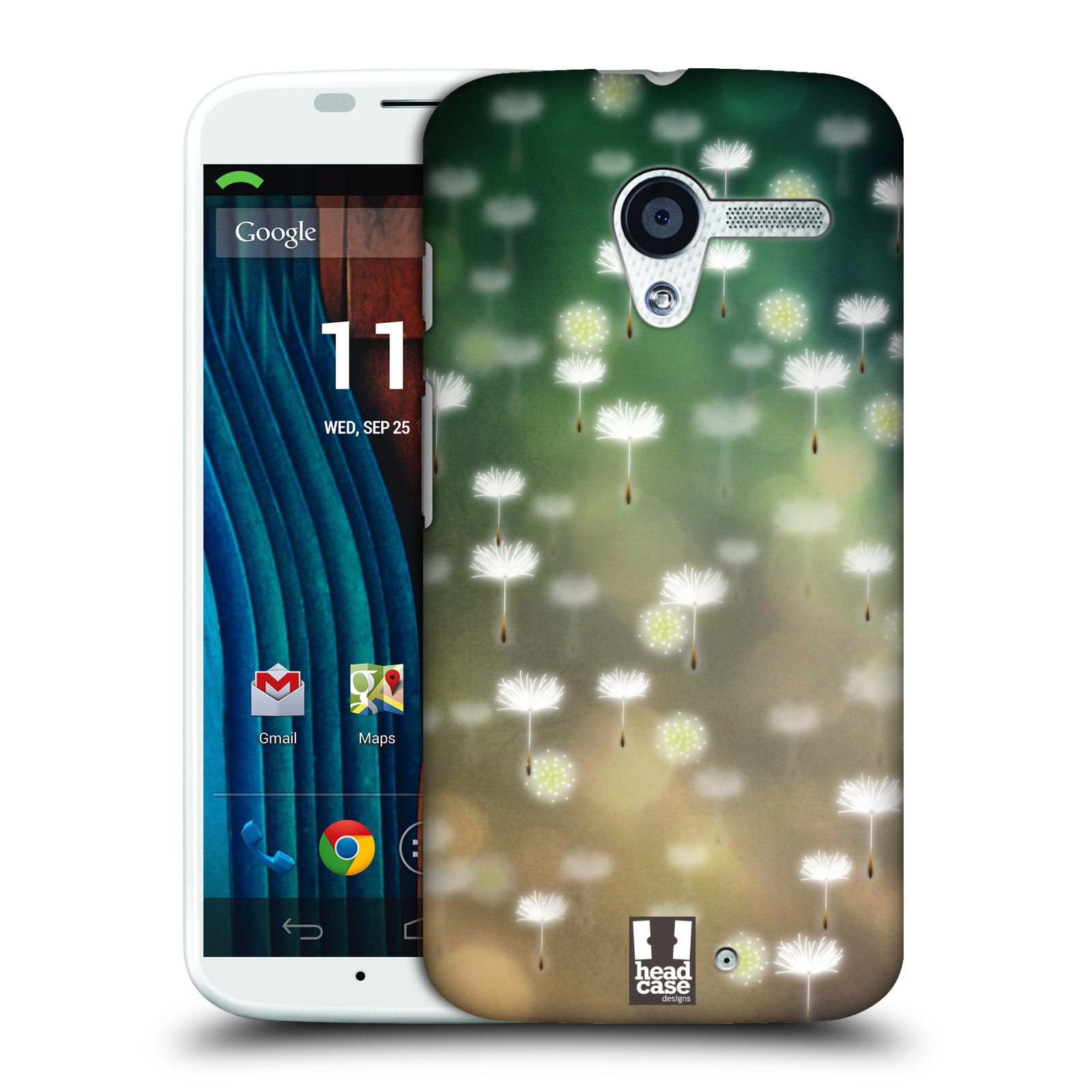 Plastové pouzdro na mobil Motorola Moto X HEAD CASE Pampeliškové padáčky (Kryt či obal na mobilní telefon Motorola Moto X)