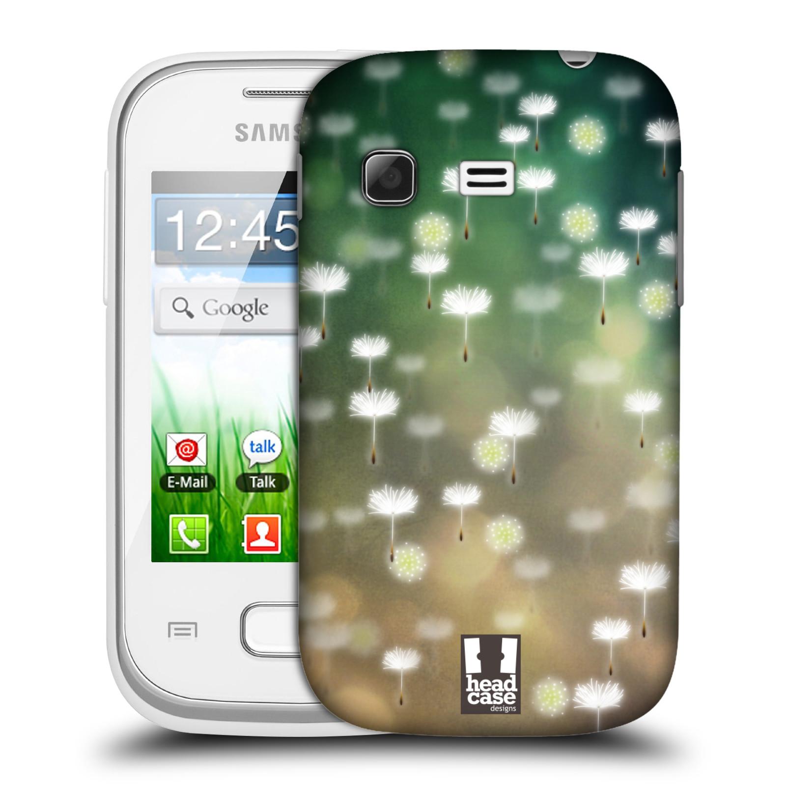 Plastové pouzdro na mobil Samsung Galaxy Pocket HEAD CASE Pampeliškové padáčky (Kryt či obal na mobilní telefon Samsung Galaxy Pocket GT-S5300)