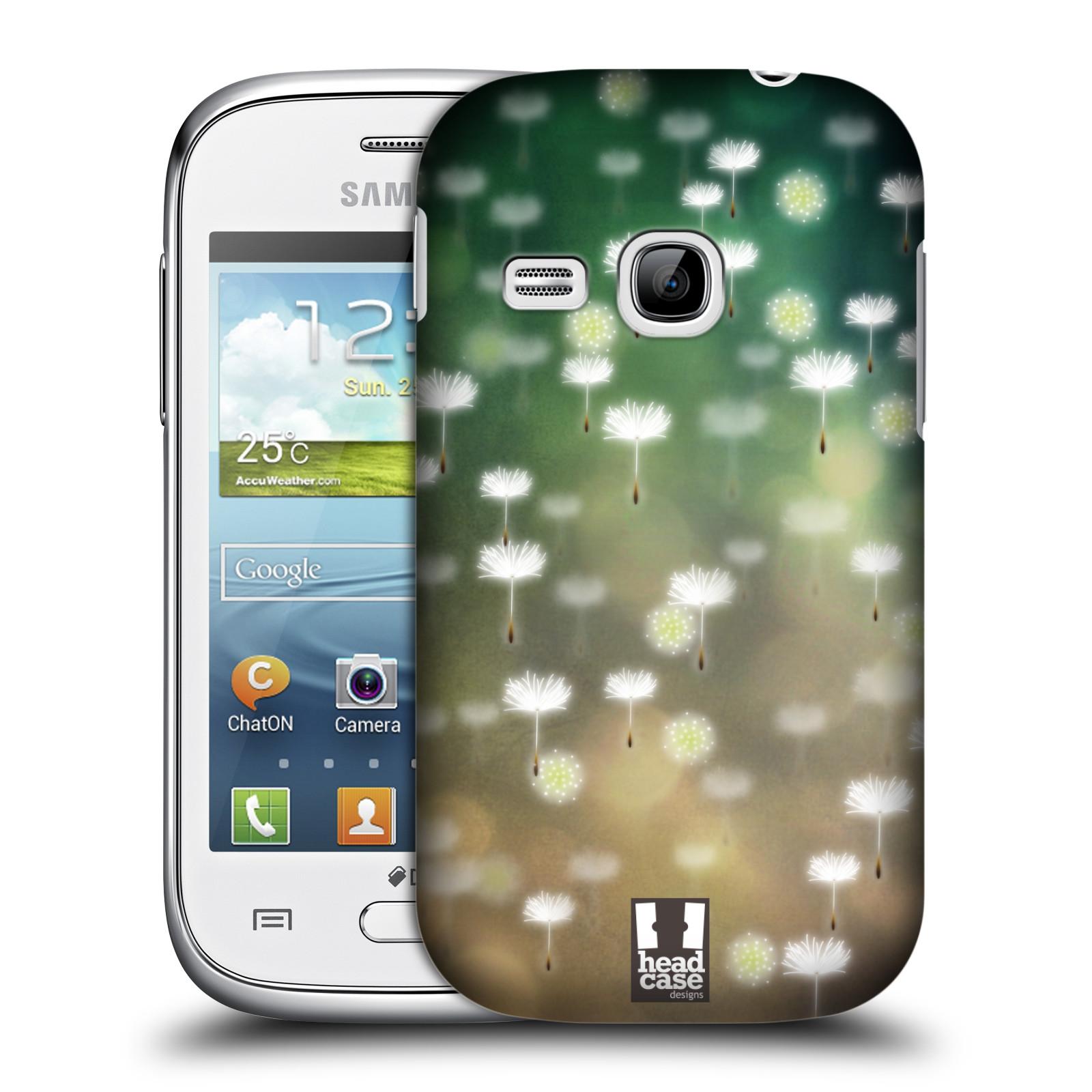 Plastové pouzdro na mobil Samsung Galaxy Young HEAD CASE Pampeliškové padáčky (Kryt či obal na mobilní telefon Samsung Galaxy Young GT-S6310)