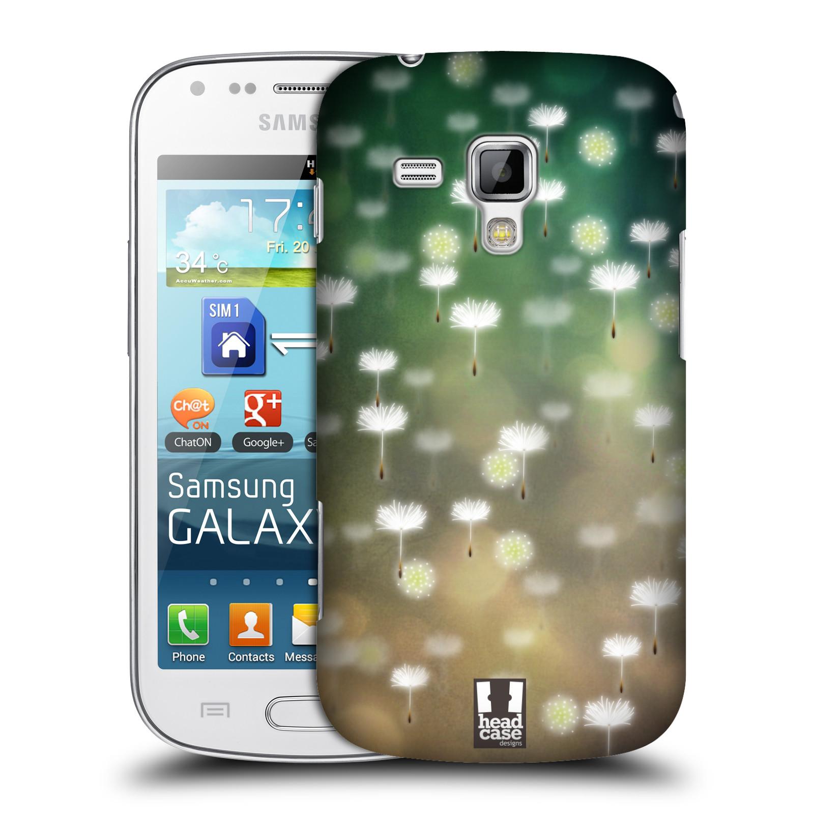 Plastové pouzdro na mobil Samsung Galaxy Trend Plus HEAD CASE Pampeliškové padáčky (Kryt či obal na mobilní telefon Samsung Galaxy Trend Plus GT-S7580)