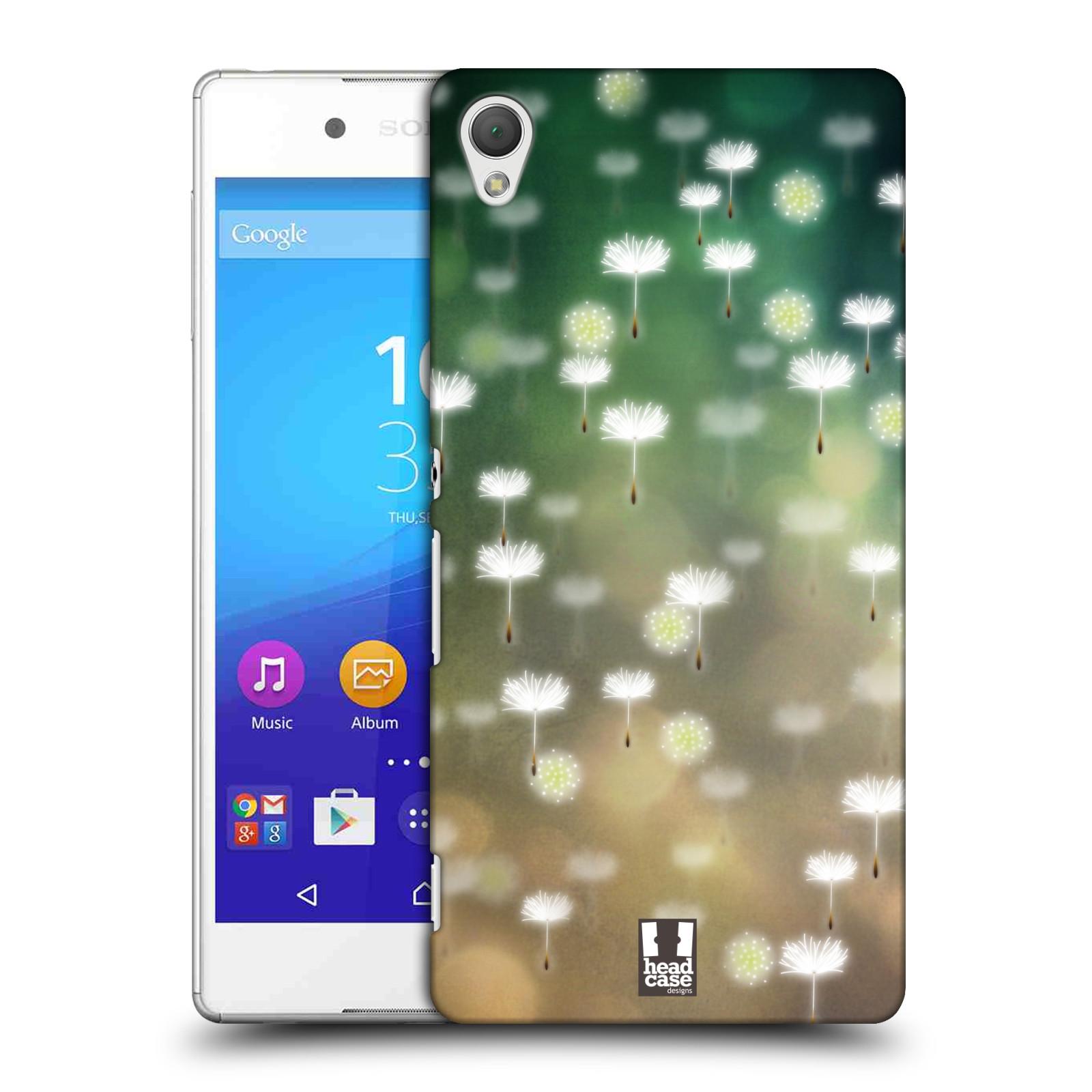 Plastové pouzdro na mobil Sony Xperia Z3+ (Plus) HEAD CASE Pampeliškové padáčky (Kryt či obal na mobilní telefon Sony Xperia Z3+ a Sony Xperia Z4 )
