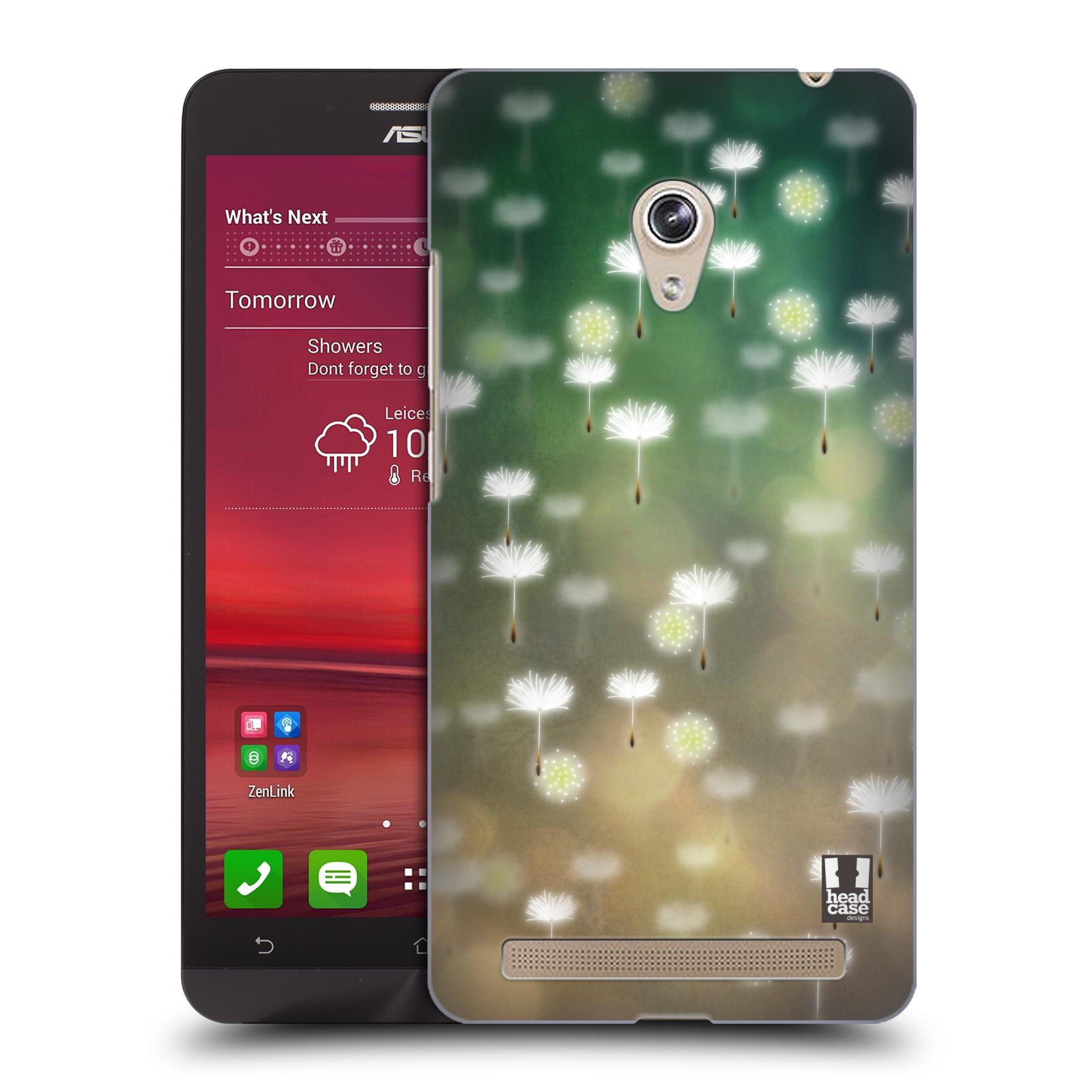 Plastové pouzdro na mobil Asus Zenfone 6 HEAD CASE Pampeliškové padáčky (Kryt či obal na mobilní telefon Asus Zenfone 6 A600CG / A601CG)