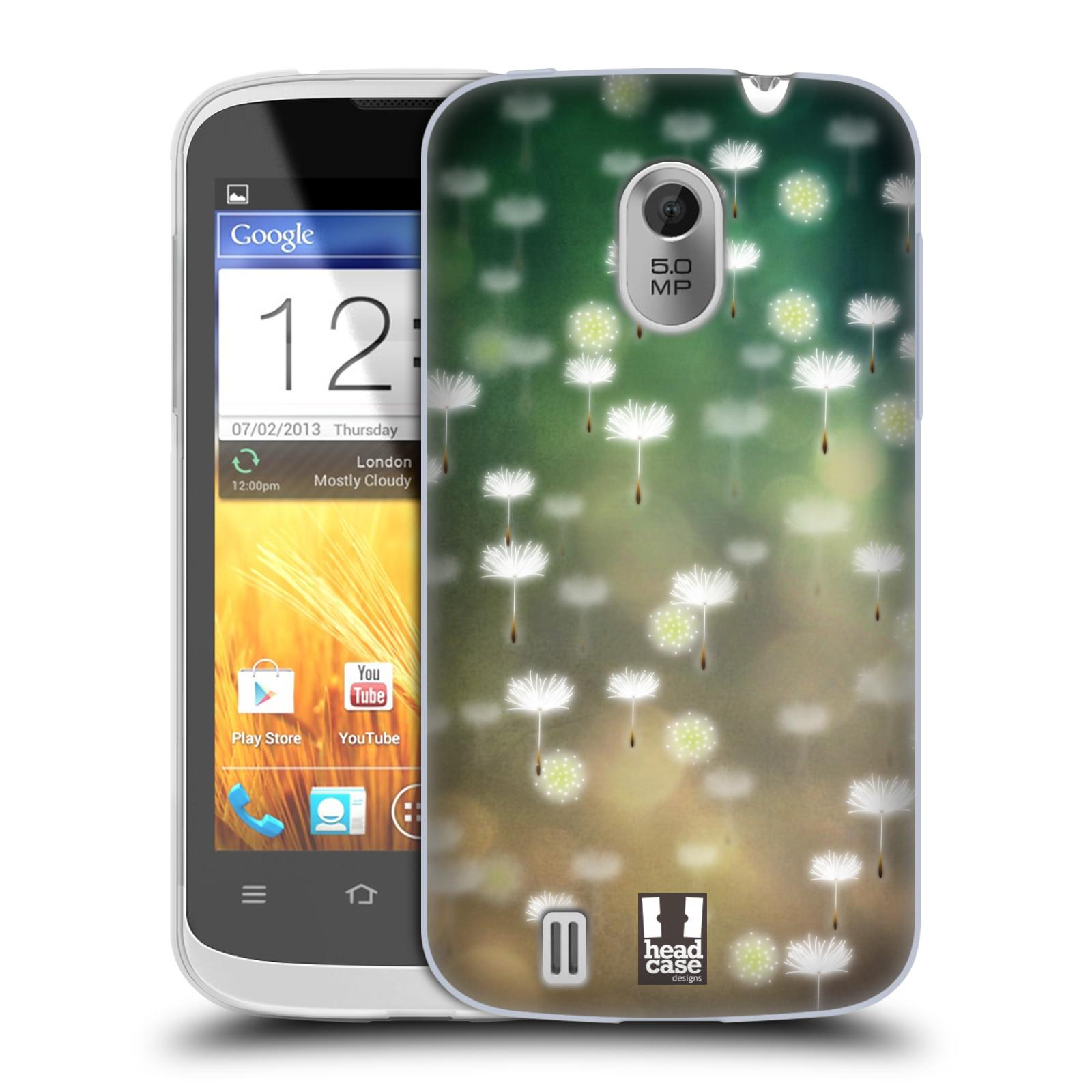 Silikonové pouzdro na mobil ZTE Blade III HEAD CASE Pampeliškové padáčky (Silikonový kryt či obal na mobilní telefon ZTE Blade 3)