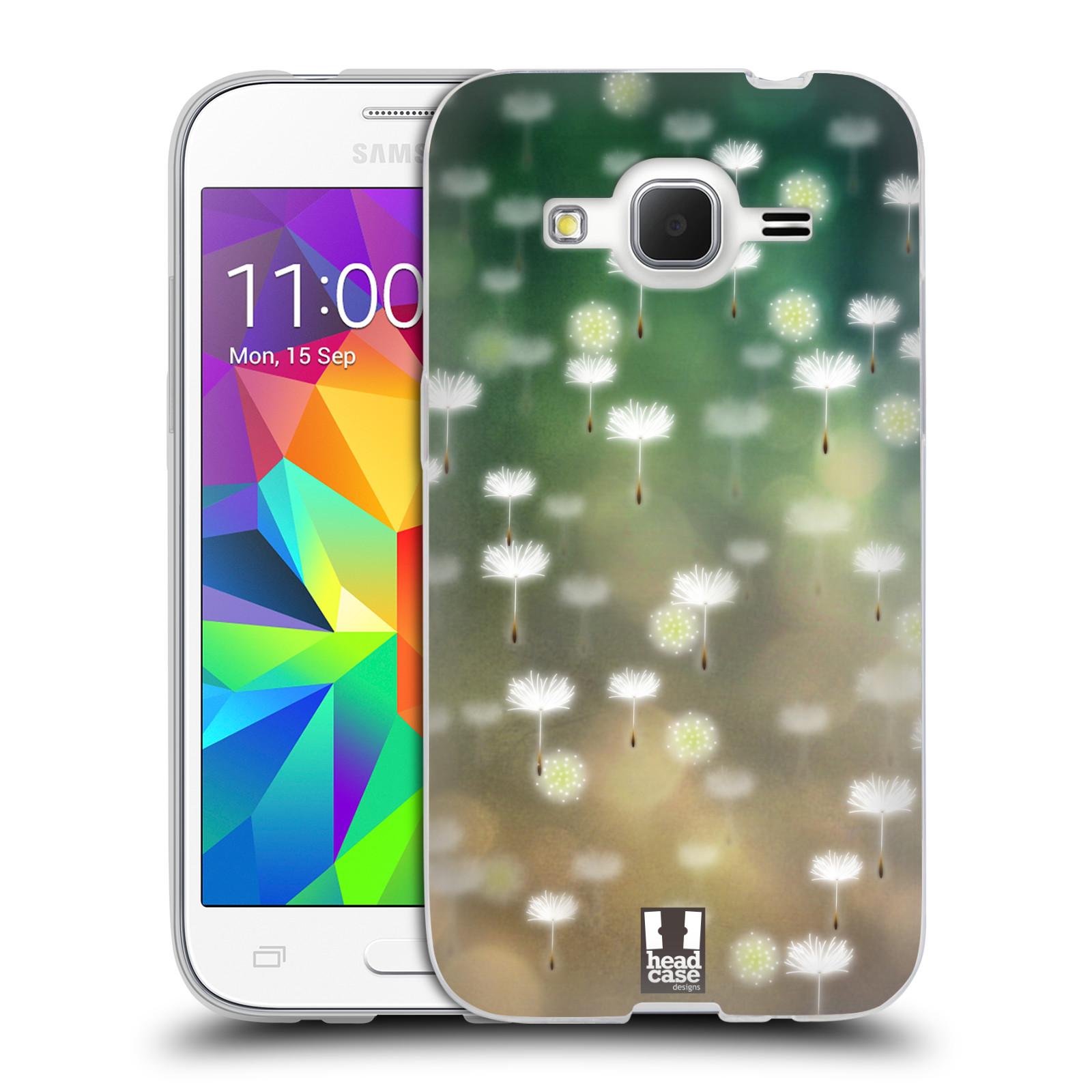 Silikonové pouzdro na mobil Samsung Galaxy Core Prime LTE HEAD CASE Pampeliškové padáčky (Silikonový kryt či obal na mobilní telefon Samsung Galaxy Core Prime LTE SM-G360)