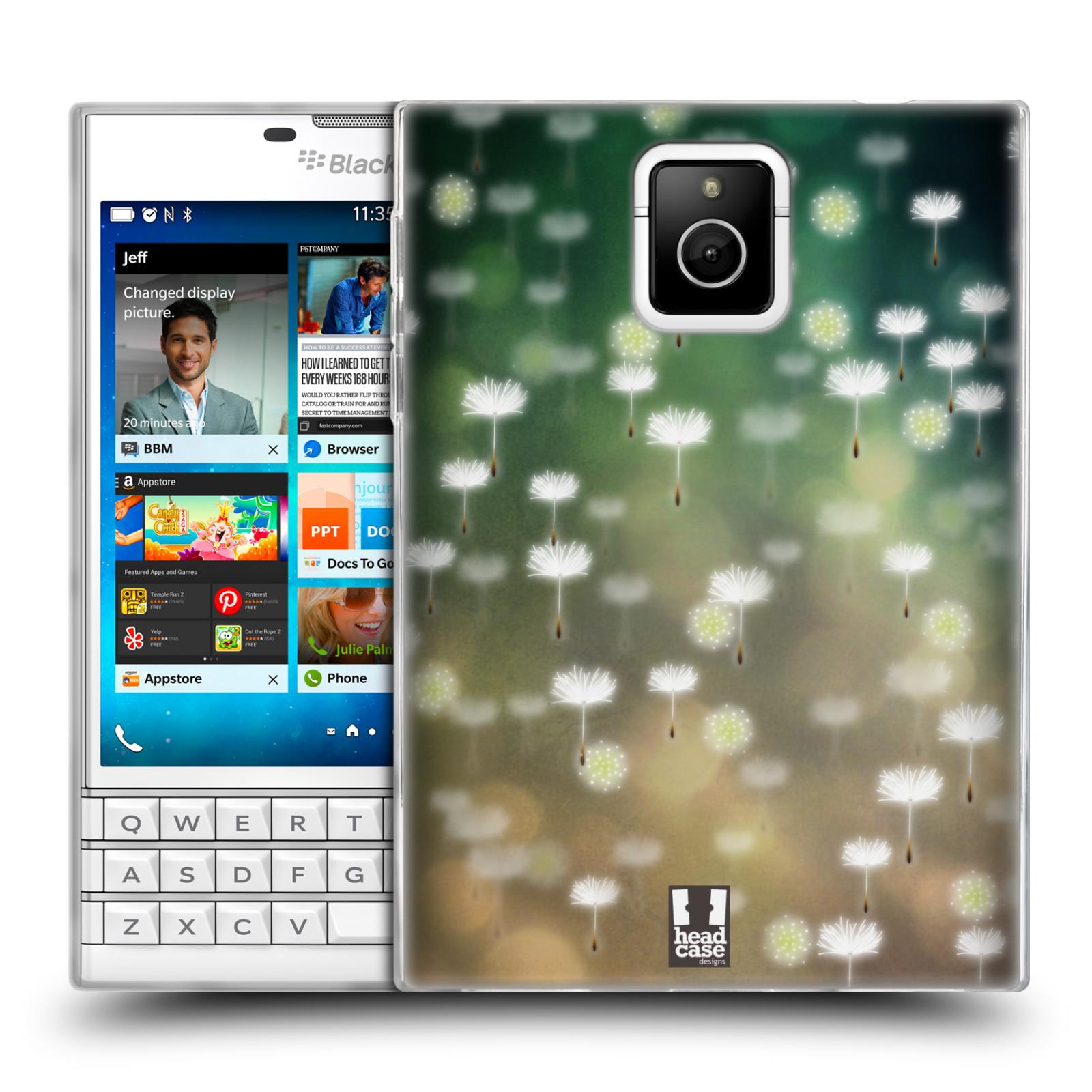 Silikonové pouzdro na mobil Blackberry PASSPORT HEAD CASE Pampeliškové padáčky (Silikonový kryt či obal na mobilní telefon Blackberry PASSPORT)