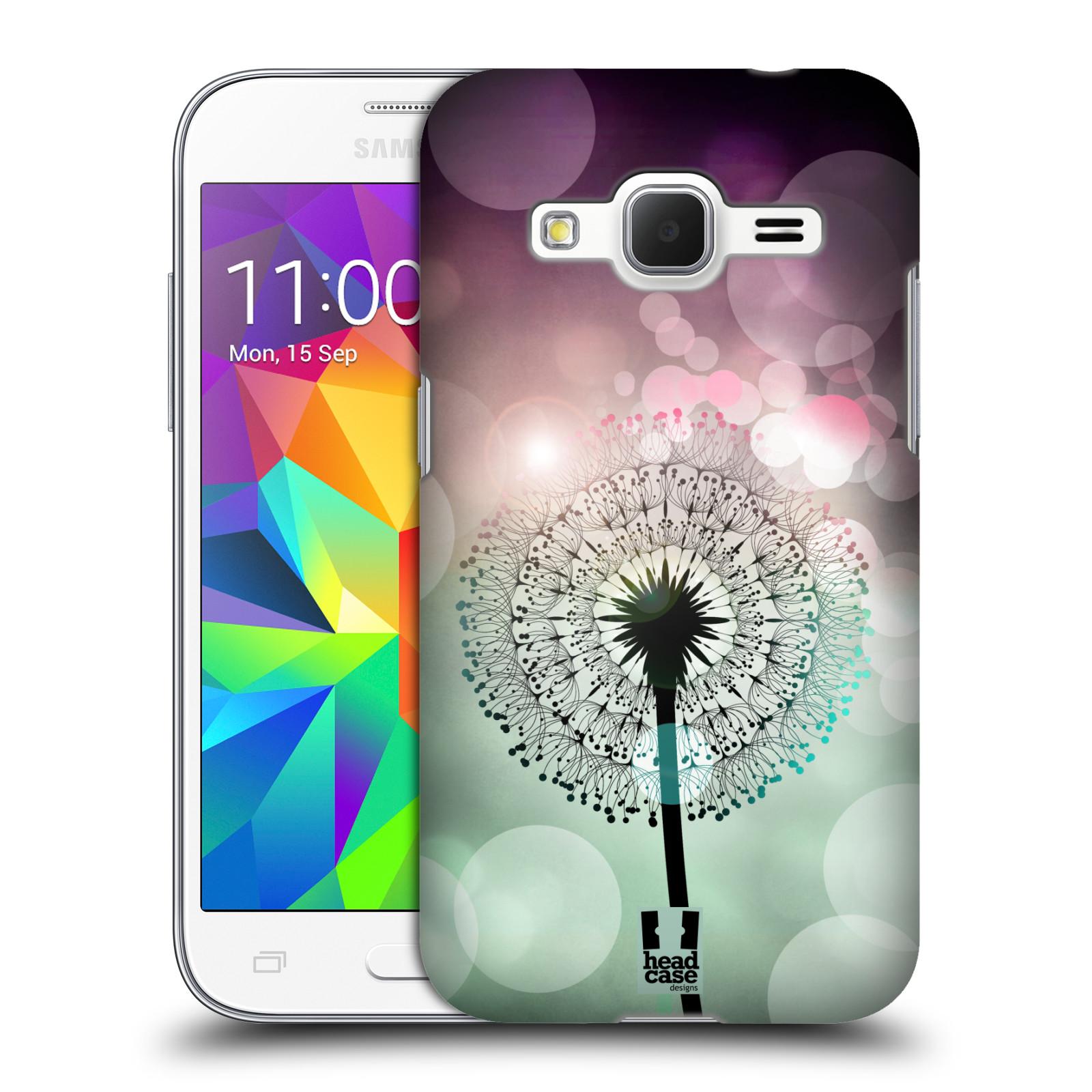Plastové pouzdro na mobil Samsung Galaxy Core Prime LTE HEAD CASE Pampeliškové odlesky (Kryt či obal na mobilní telefon Samsung Galaxy Core Prime LTE SM-G360)