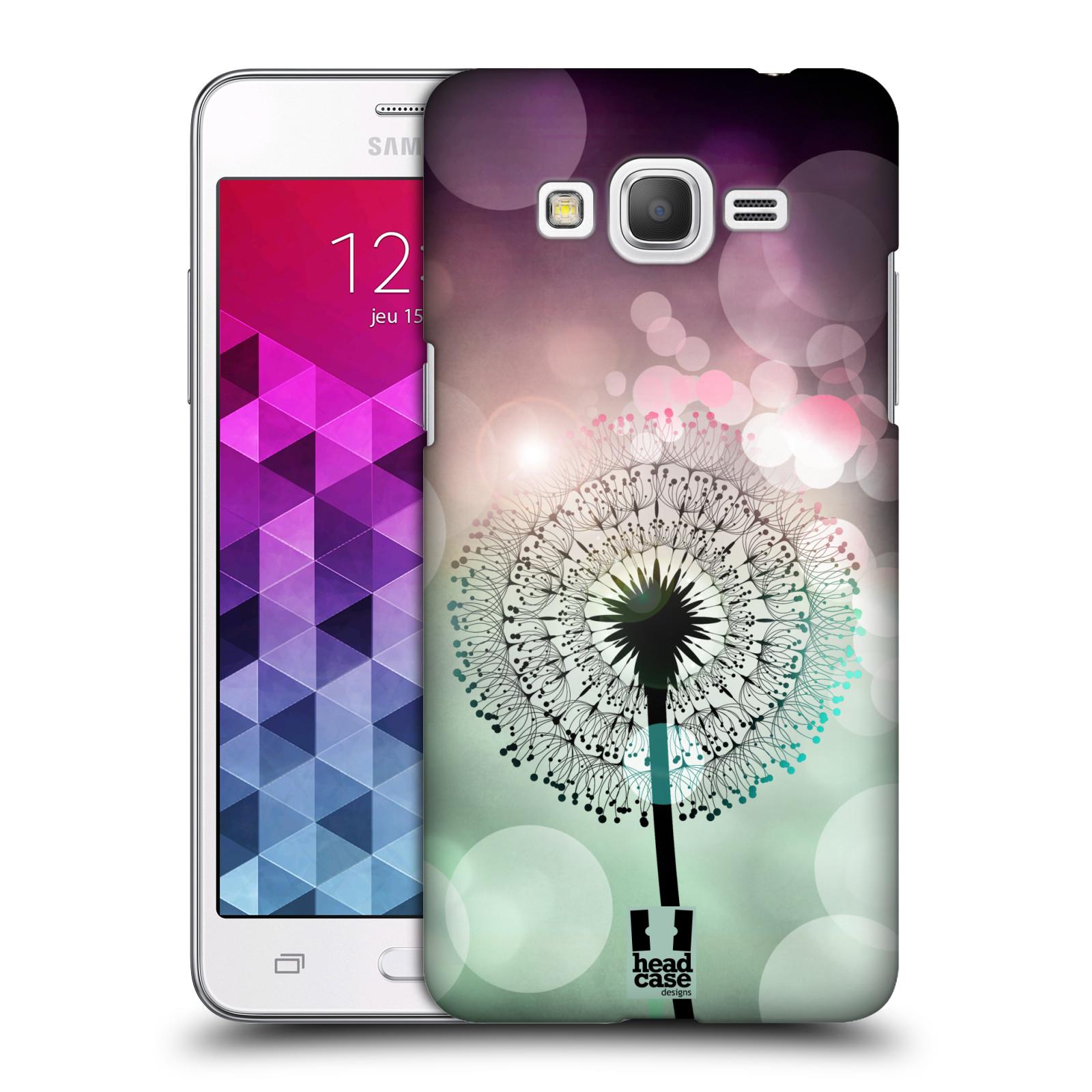 Plastové pouzdro na mobil Samsung Galaxy Grand Prime VE HEAD CASE Pampeliškové odlesky