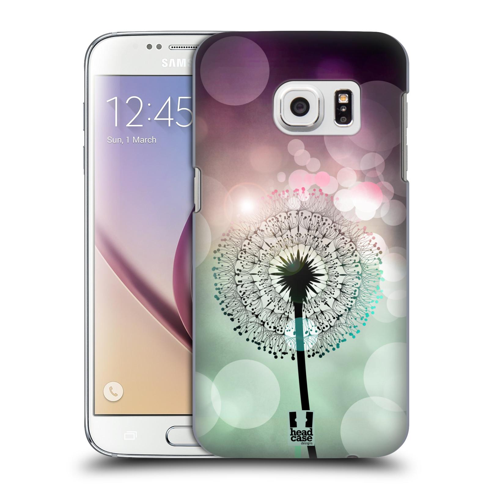 Plastové pouzdro na mobil Samsung Galaxy S7 HEAD CASE Pampeliškové odlesky (Kryt či obal na mobilní telefon Samsung Galaxy S7 SM-G930F)