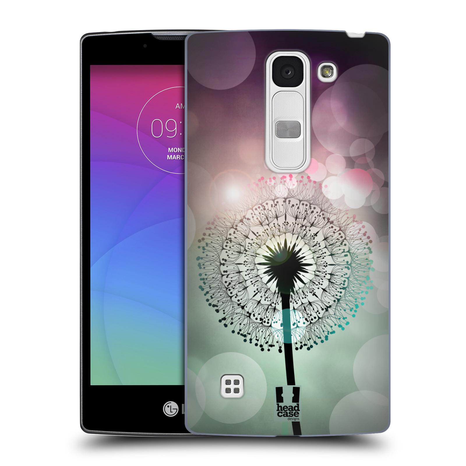 Plastové pouzdro na mobil LG Spirit LTE HEAD CASE Pampeliškové odlesky (Kryt či obal na mobilní telefon LG Spirit H420 a LG Spirit LTE H440N)