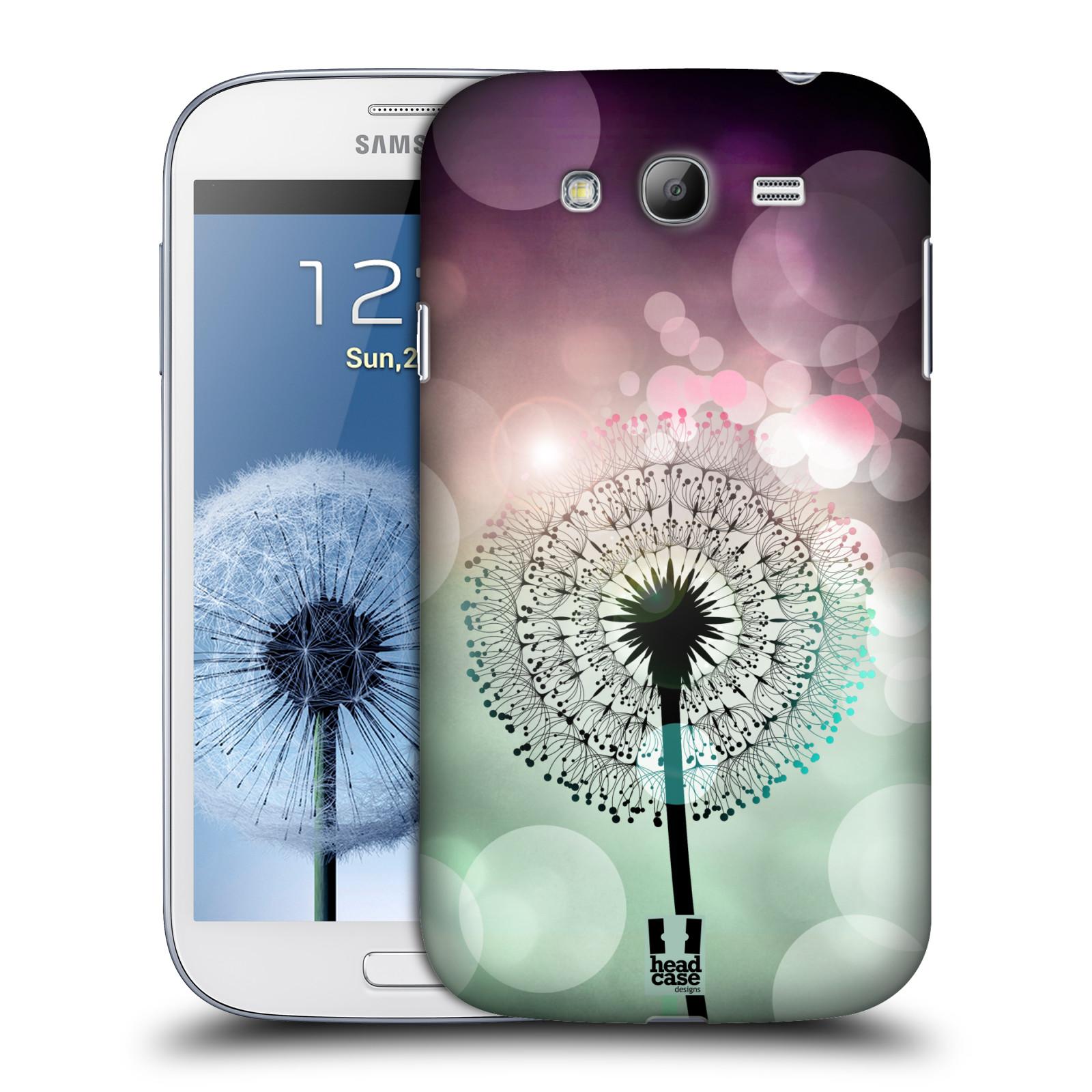 Plastové pouzdro na mobil Samsung Galaxy Grand Neo Plus HEAD CASE Pampeliškové odlesky (Kryt či obal na mobilní telefon Samsung Galaxy Grand Neo Plus GT-i9060i)