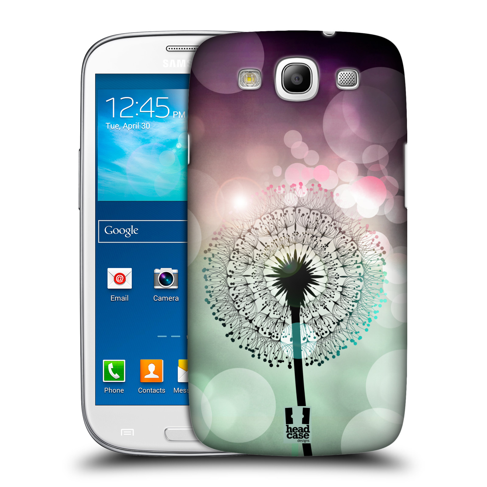 Plastové pouzdro na mobil Samsung Galaxy S3 Neo HEAD CASE Pampeliškové odlesky
