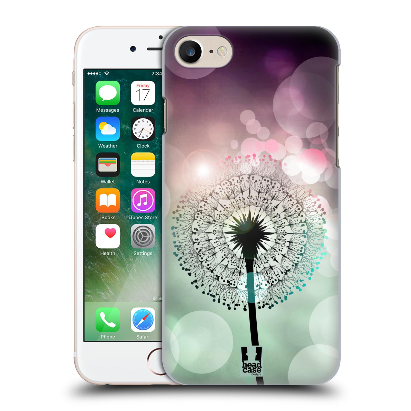 Plastové pouzdro na mobil Apple iPhone 7 HEAD CASE Pampeliškové odlesky