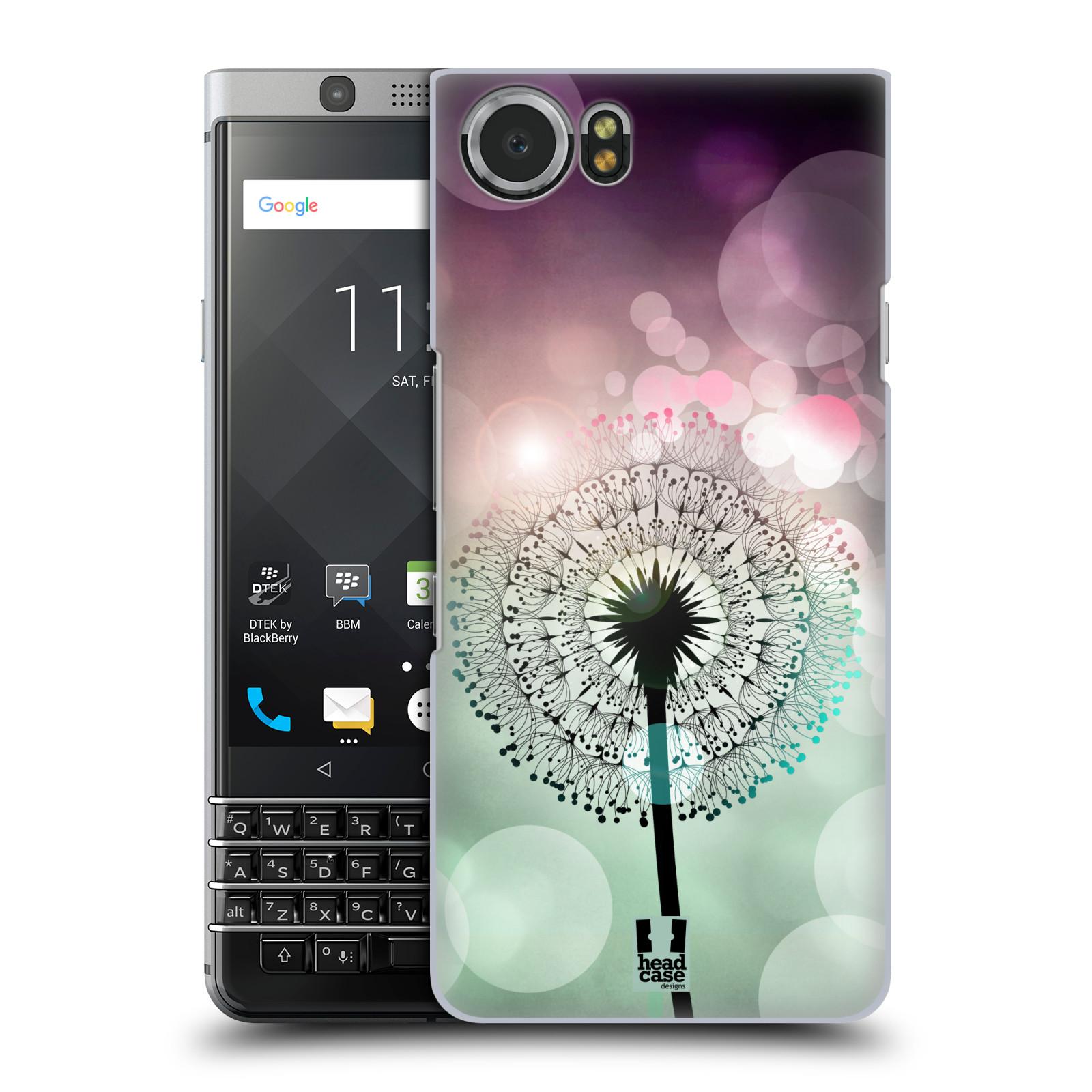 Plastové pouzdro na mobil BlackBerry KEYone - Head Case - Pampeliškové odlesky