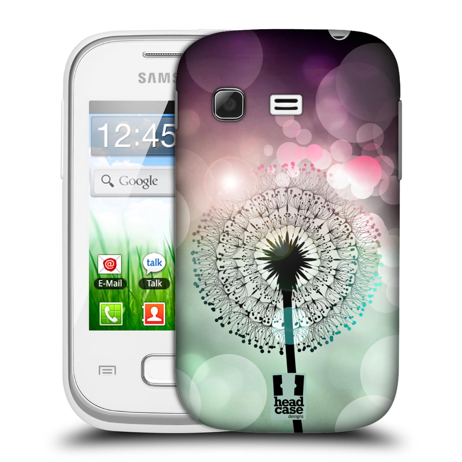 Plastové pouzdro na mobil Samsung Galaxy Pocket HEAD CASE Pampeliškové odlesky (Kryt či obal na mobilní telefon Samsung Galaxy Pocket GT-S5300)