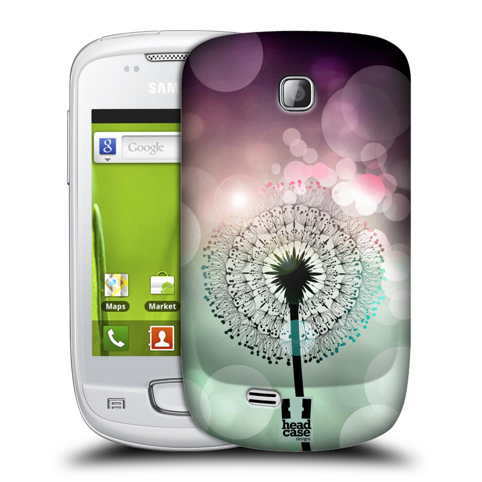 Plastové pouzdro na mobil Samsung Galaxy Mini HEAD CASE Pampeliškové odlesky (Kryt či obal na mobilní telefon Samsung Galaxy Mini GT-S5570 / GT-S5570i)