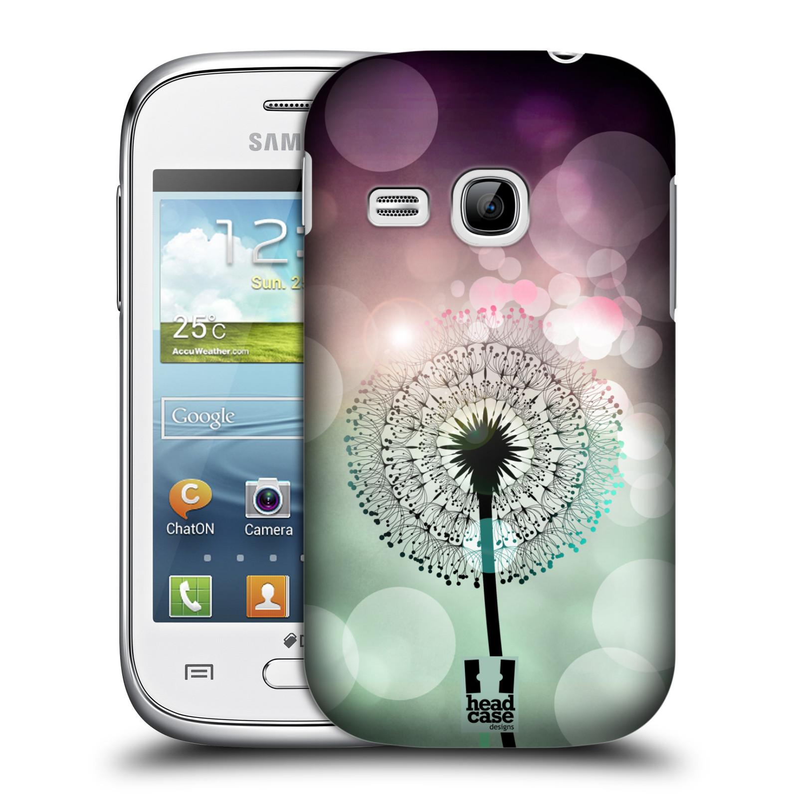 Plastové pouzdro na mobil Samsung Galaxy Young HEAD CASE Pampeliškové odlesky (Kryt či obal na mobilní telefon Samsung Galaxy Young GT-S6310)