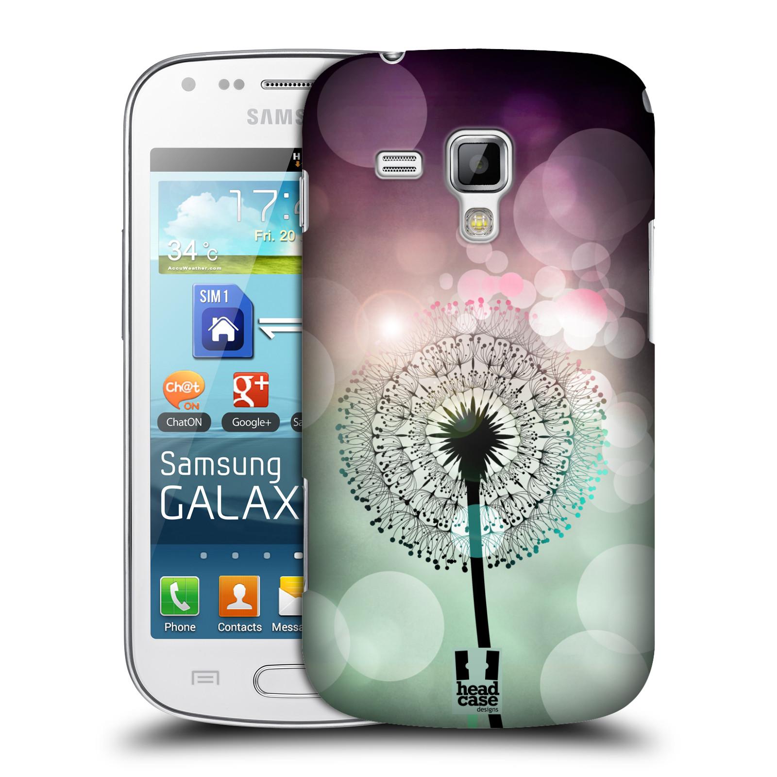 Plastové pouzdro na mobil Samsung Galaxy Trend Plus HEAD CASE Pampeliškové odlesky (Kryt či obal na mobilní telefon Samsung Galaxy Trend Plus GT-S7580)