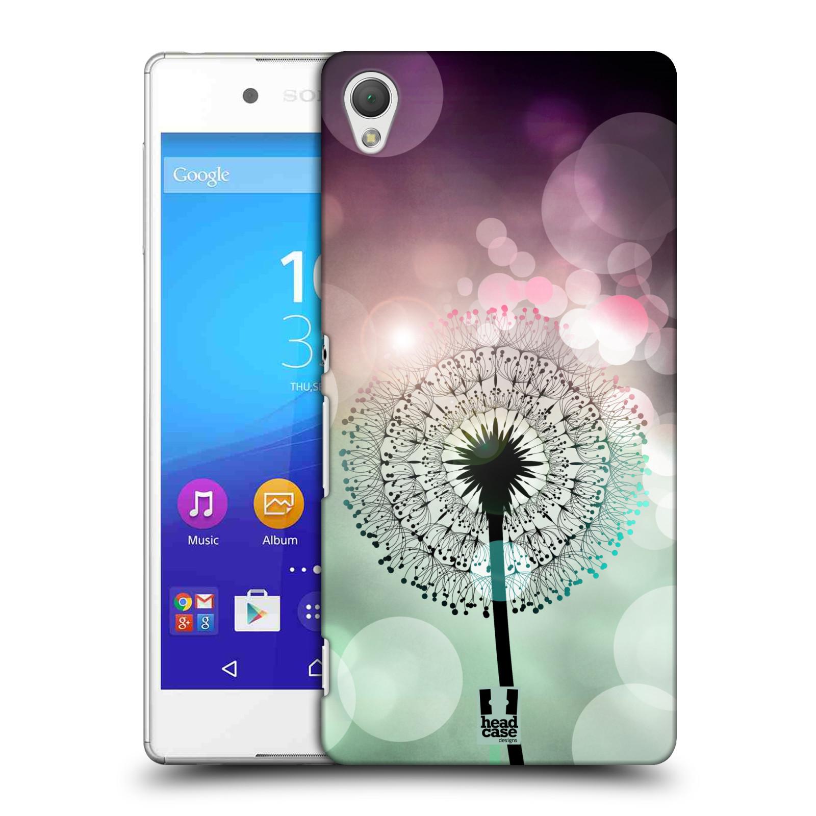 Plastové pouzdro na mobil Sony Xperia Z3+ (Plus) HEAD CASE Pampeliškové odlesky (Kryt či obal na mobilní telefon Sony Xperia Z3+ a Sony Xperia Z4 )