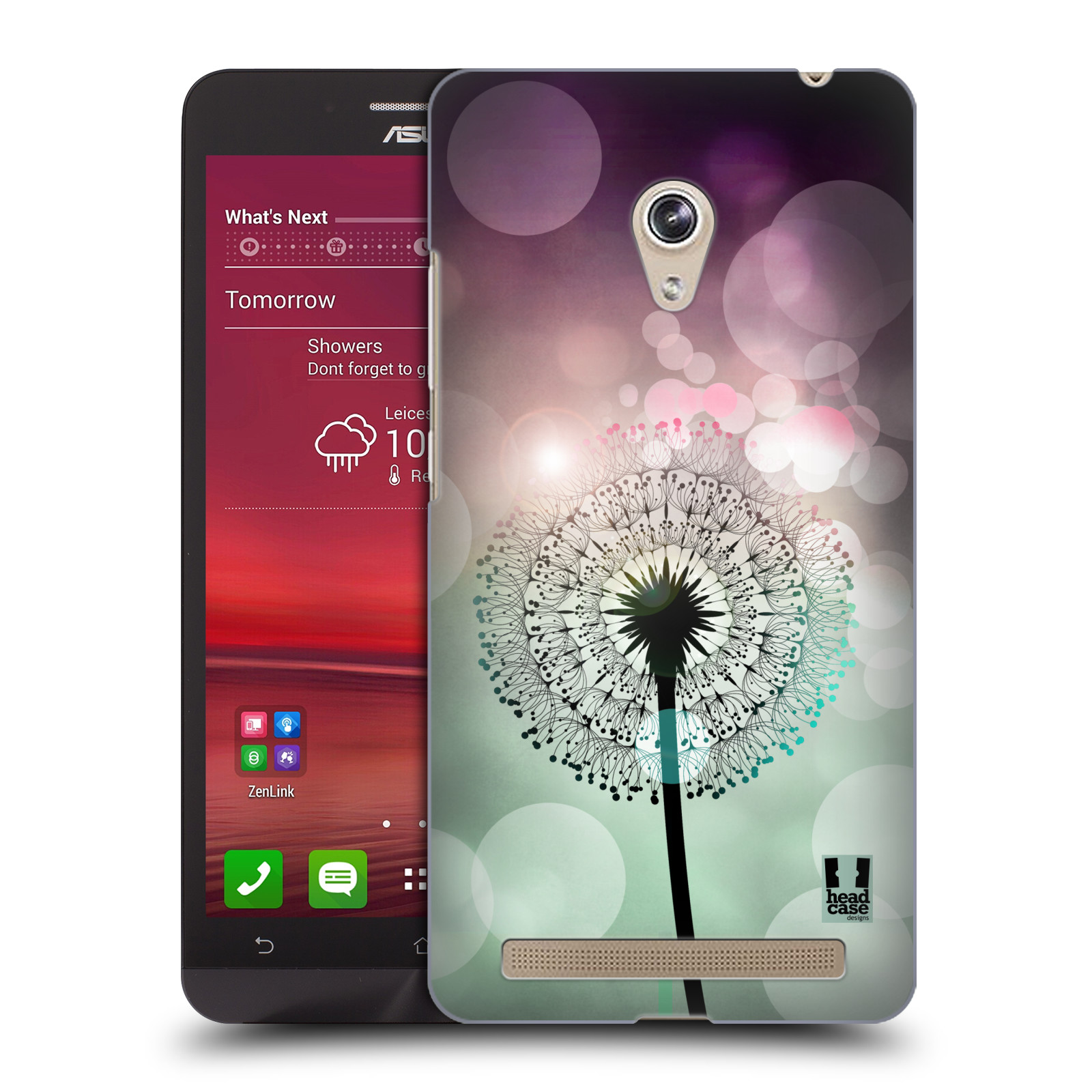 Plastové pouzdro na mobil Asus Zenfone 6 HEAD CASE Pampeliškové odlesky (Kryt či obal na mobilní telefon Asus Zenfone 6 A600CG / A601CG)
