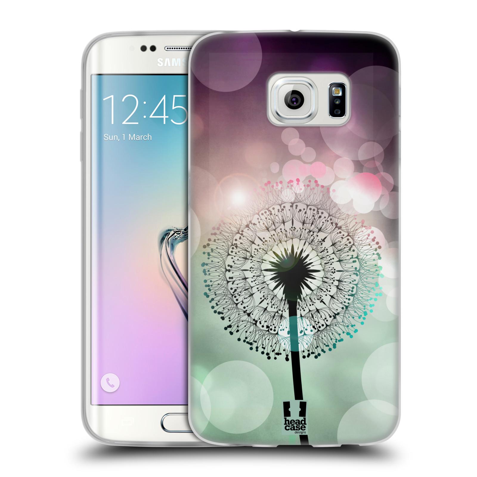 Silikonové pouzdro na mobil Samsung Galaxy S6 Edge HEAD CASE Pampeliškové odlesky (Silikonový kryt či obal na mobilní telefon Samsung Galaxy S6 Edge SM-G925F)