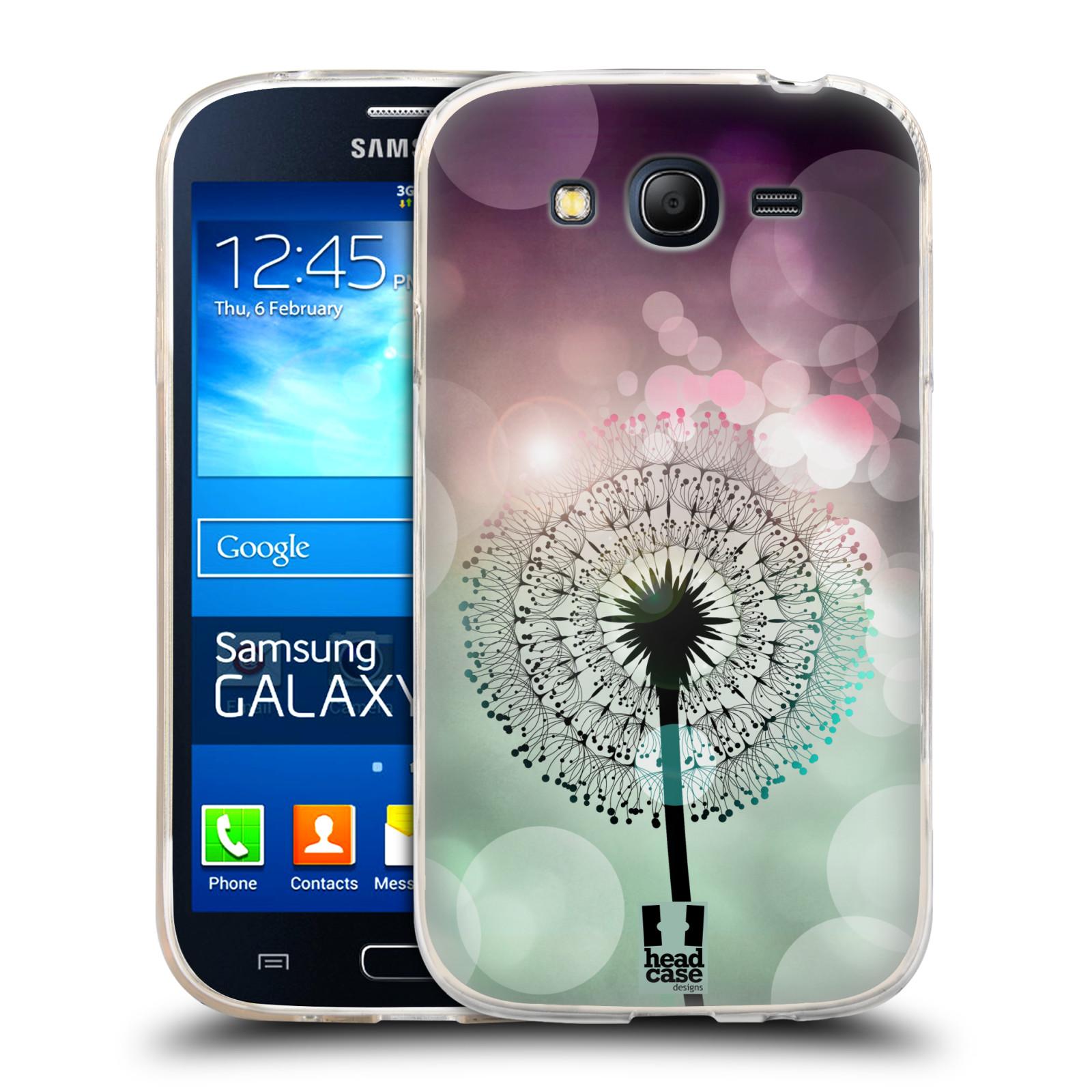 Silikonové pouzdro na mobil Samsung Galaxy Grand Neo Plus HEAD CASE Pampeliškové odlesky (Silikonový kryt či obal na mobilní telefon Samsung Galaxy Grand Neo Plus Duos GT-I9060i)