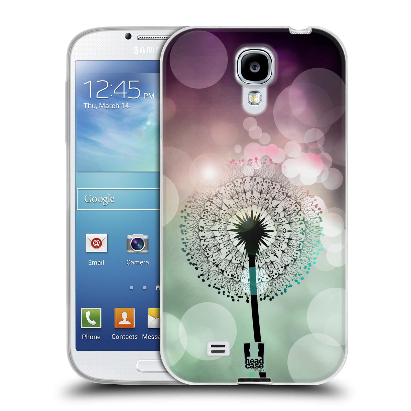 Silikonové pouzdro na mobil Samsung Galaxy S4 HEAD CASE Pampeliškové odlesky (Silikonový kryt či obal na mobilní telefon Samsung Galaxy S4 GT-i9505 / i9500)