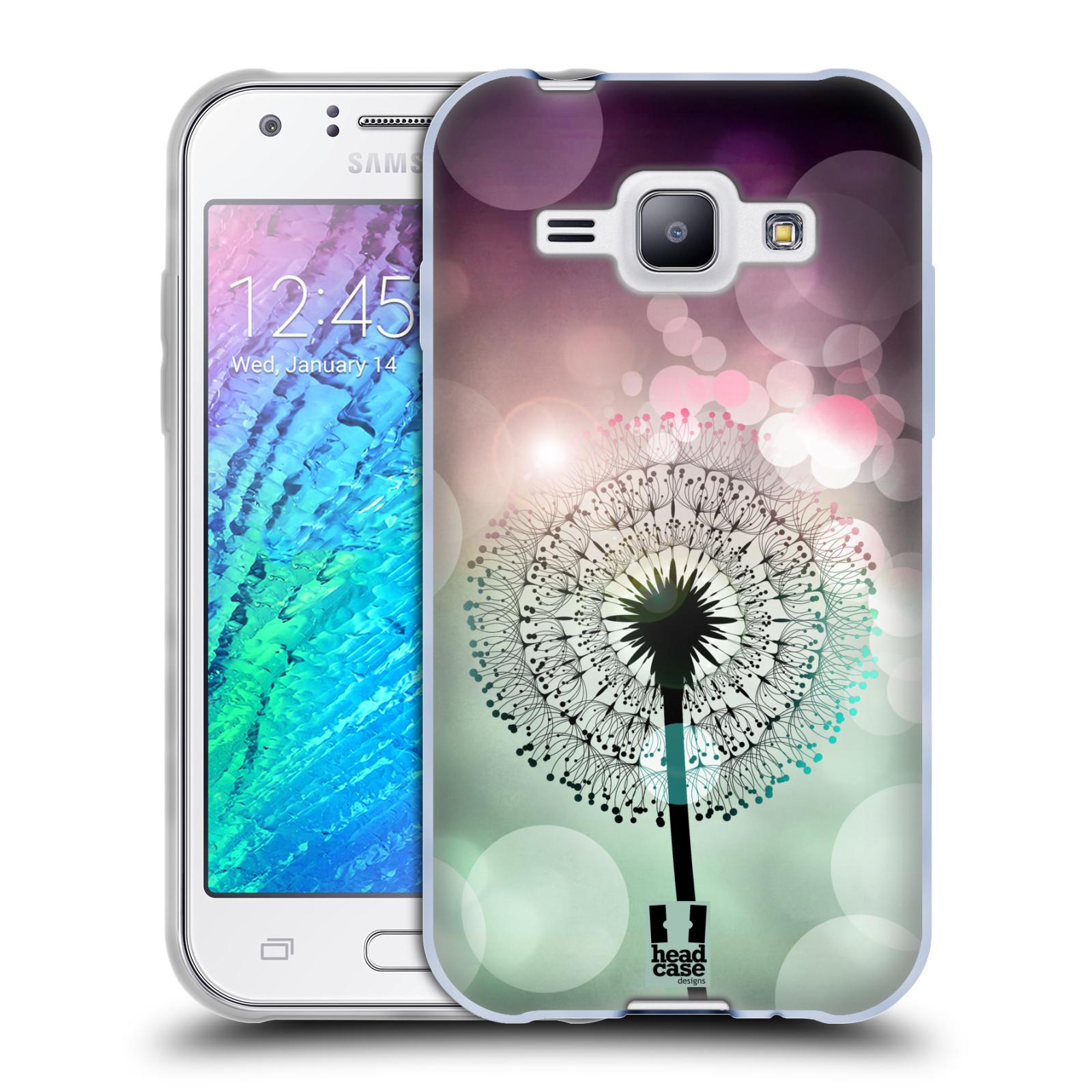 Silikonové pouzdro na mobil Samsung Galaxy J1 HEAD CASE Pampeliškové odlesky (Silikonový kryt či obal na mobilní telefon Samsung Galaxy J1 a J1 Duos)