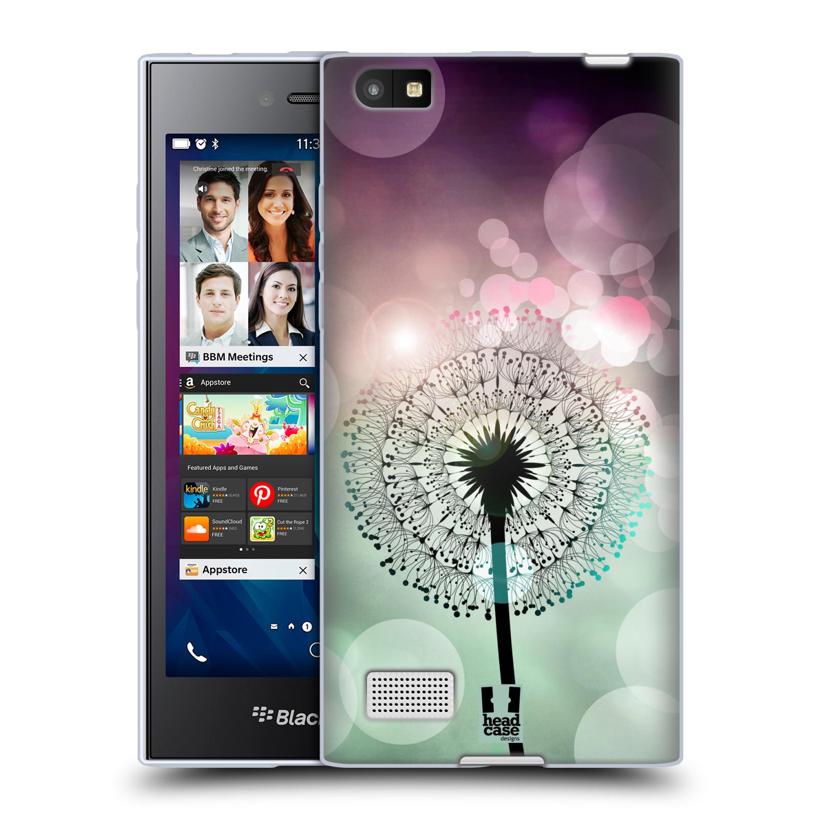 Silikonové pouzdro na mobil Blackberry Leap HEAD CASE Pampeliškové odlesky (Silikonový kryt či obal na mobilní telefon Blackberry Leap)