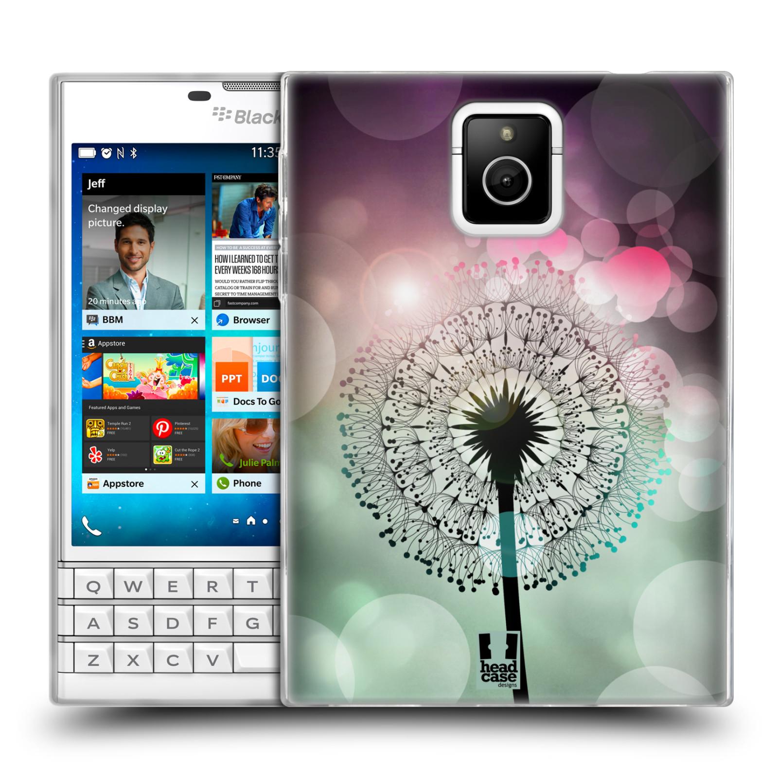 Silikonové pouzdro na mobil Blackberry PASSPORT HEAD CASE Pampeliškové odlesky (Silikonový kryt či obal na mobilní telefon Blackberry PASSPORT)