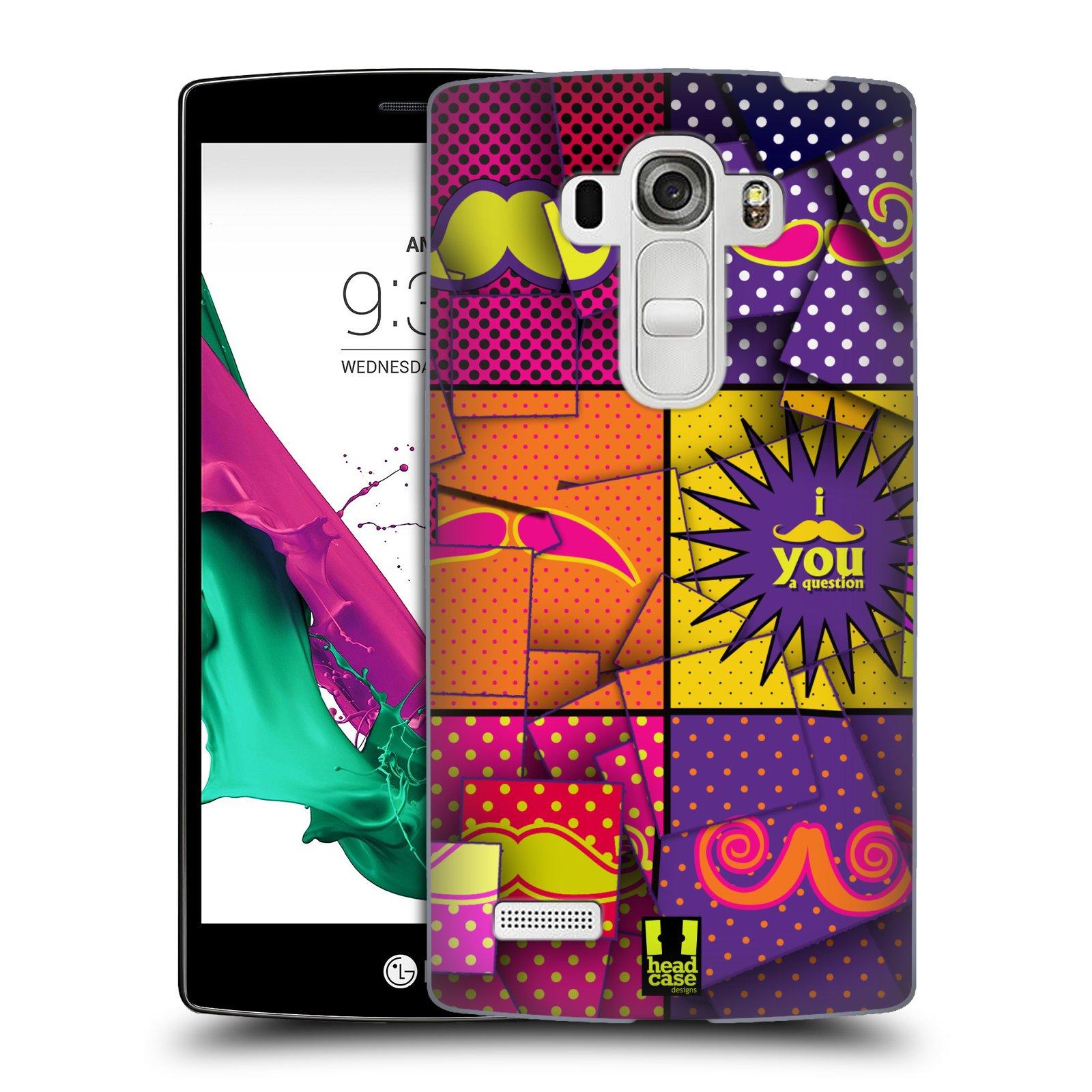 Plastové pouzdro na mobil LG G4s HEAD CASE POP ART KNÍRY (Kryt či obal na mobilní telefon LG G4s H735n)