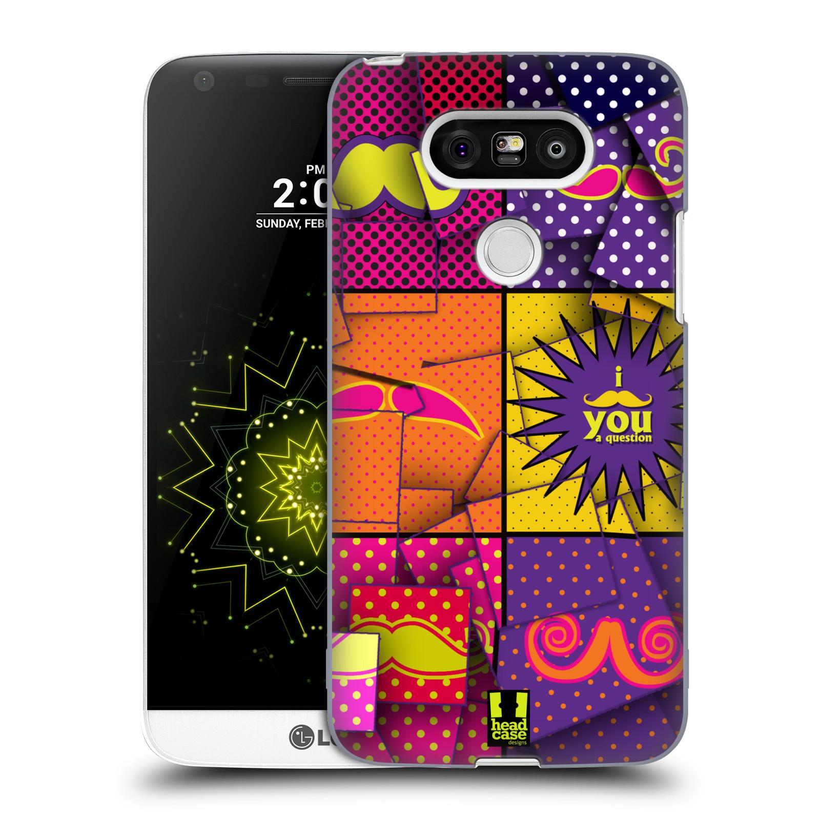 Plastové pouzdro na mobil LG G5 HEAD CASE POP ART KNÍRY (Kryt či obal na mobilní telefon LG G5 H850)