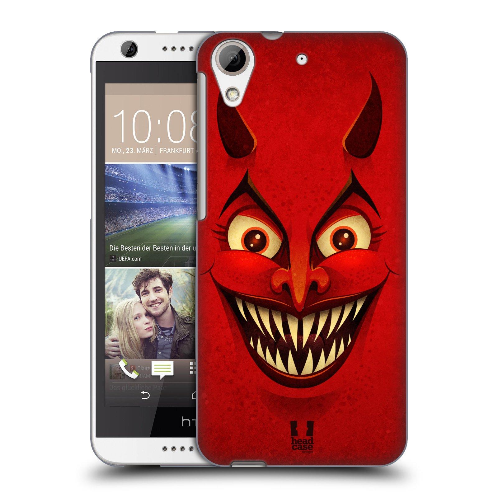 Plastové pouzdro na mobil HTC Desire 626 / 626G HEAD CASE ČERT (Kryt či obal na mobilní telefon HTC Desire 626G Dual SIM a HTC Desire 626)