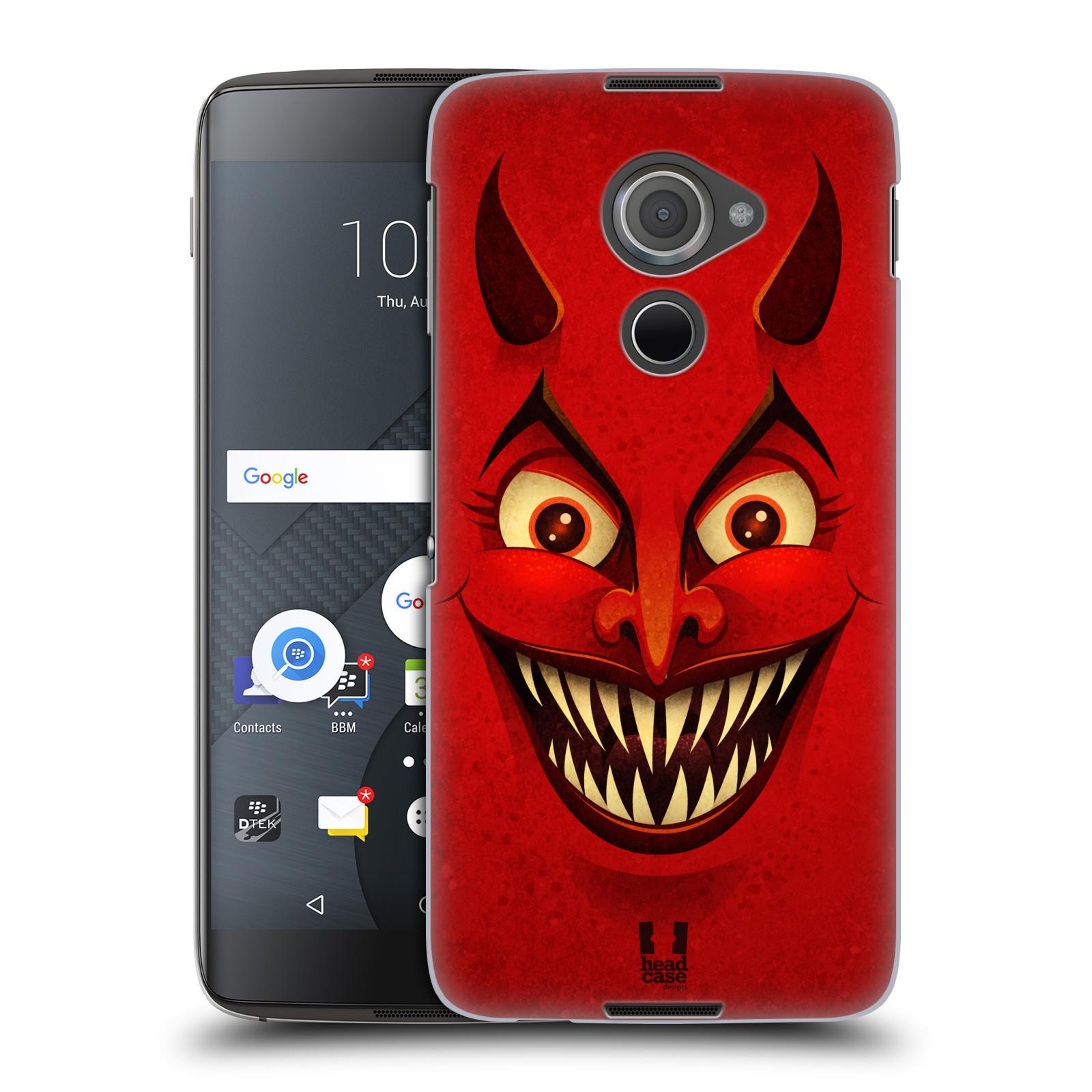 Plastové pouzdro na mobil Blackberry DTEK60 (Argon) - Head Case ČERT (Plastový kryt či obal na mobilní telefon Blackberry DTEK60 (Argon))