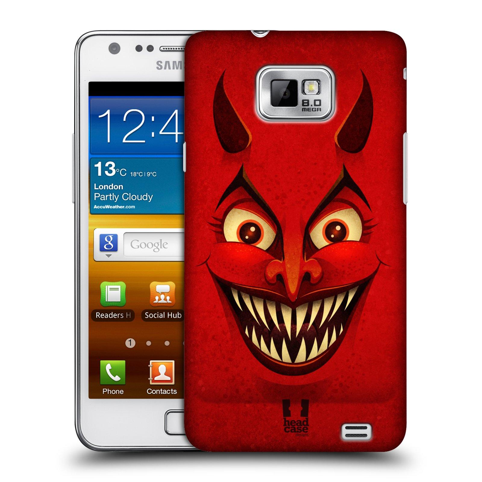 Plastové pouzdro na mobil Samsung Galaxy S II HEAD CASE ČERT (Kryt či obal na mobilní telefon Samsung Galaxy S II GT-i9100)