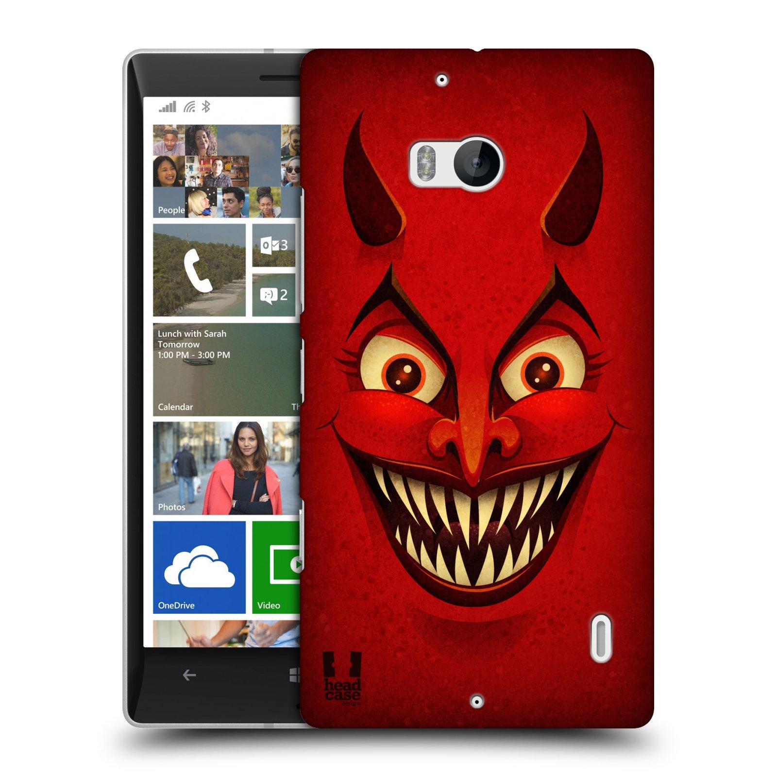 Plastové pouzdro na mobil Nokia Lumia 930 HEAD CASE ČERT (Kryt či obal na mobilní telefon Nokia Lumia 930)