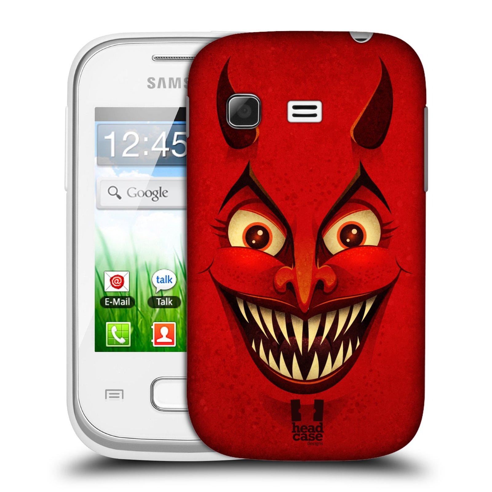 Plastové pouzdro na mobil Samsung Galaxy Pocket HEAD CASE ČERT (Kryt či obal na mobilní telefon Samsung Galaxy Pocket GT-S5300)
