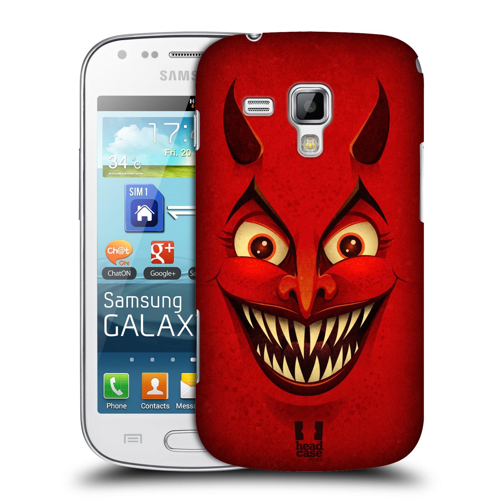 Plastové pouzdro na mobil Samsung Galaxy S Duos HEAD CASE ČERT (Kryt či obal na mobilní telefon Samsung Galaxy S Duos GT-S7562)