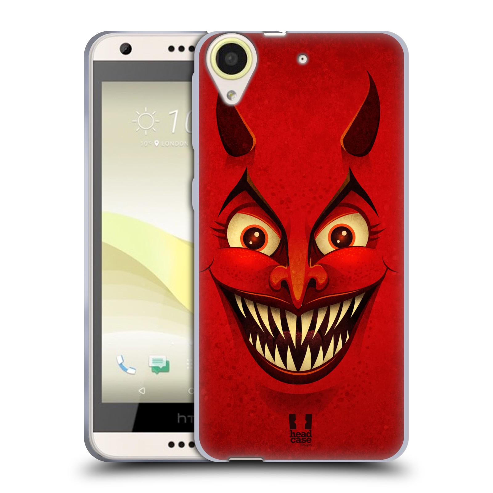 Silikonové pouzdro na mobil HTC Desire 650 HEAD CASE ČERT (Silikonový kryt či obal na mobilní telefon HTC Desire 650)