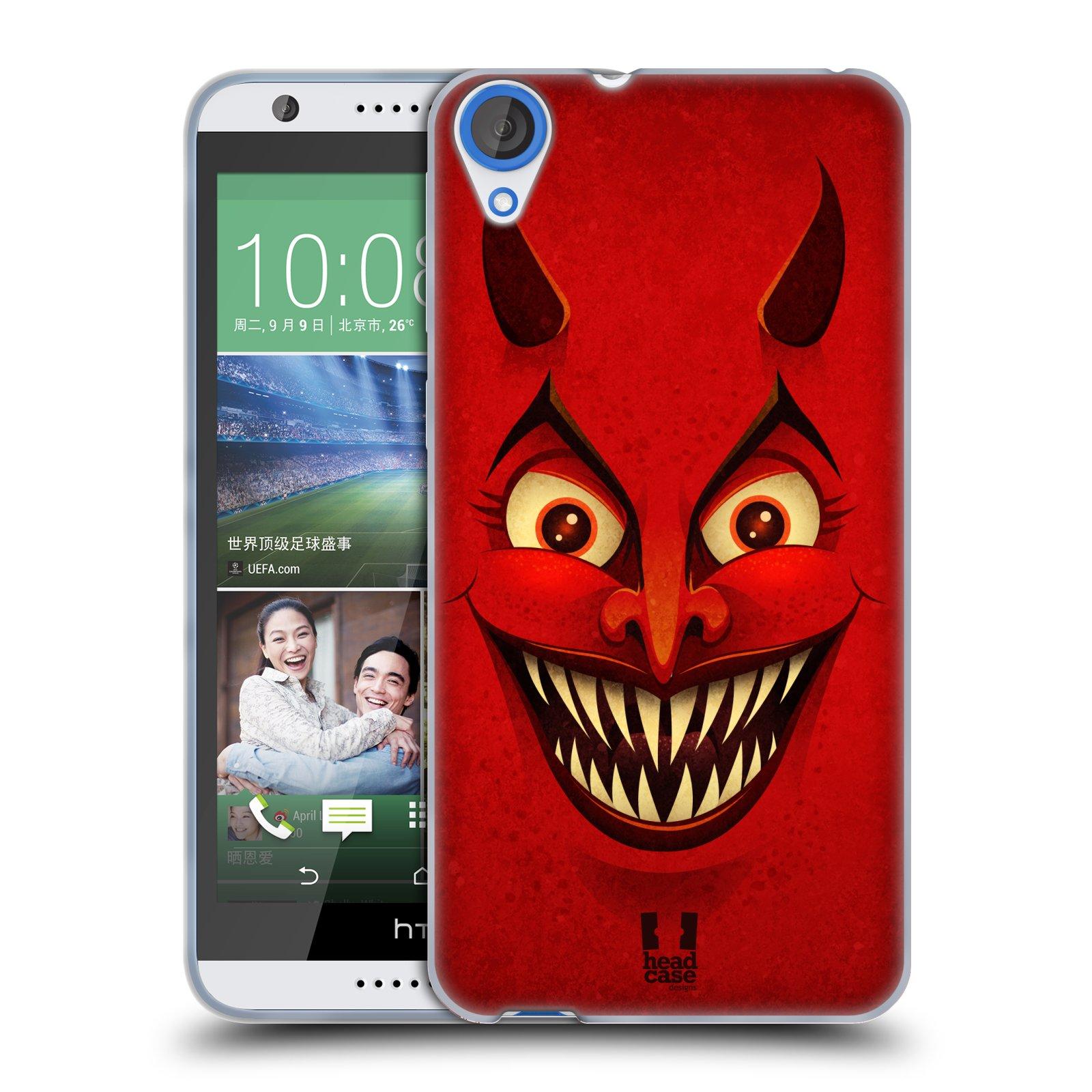 Silikonové pouzdro na mobil HTC Desire 820 HEAD CASE ČERT (Silikonový kryt či obal na mobilní telefon HTC Desire 820)