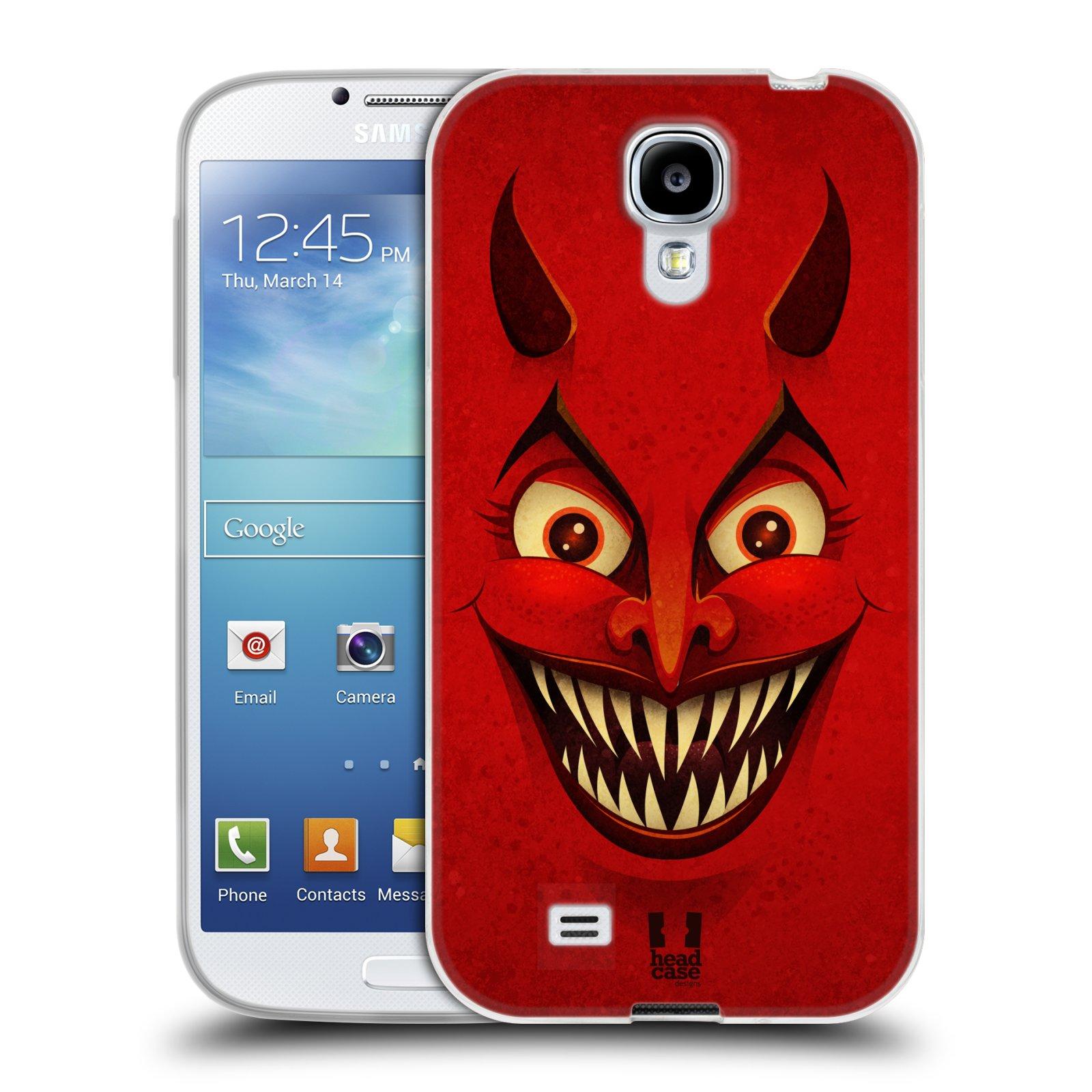 Silikonové pouzdro na mobil Samsung Galaxy S4 HEAD CASE ČERT (Silikonový kryt či obal na mobilní telefon Samsung Galaxy S4 GT-i9505 / i9500)
