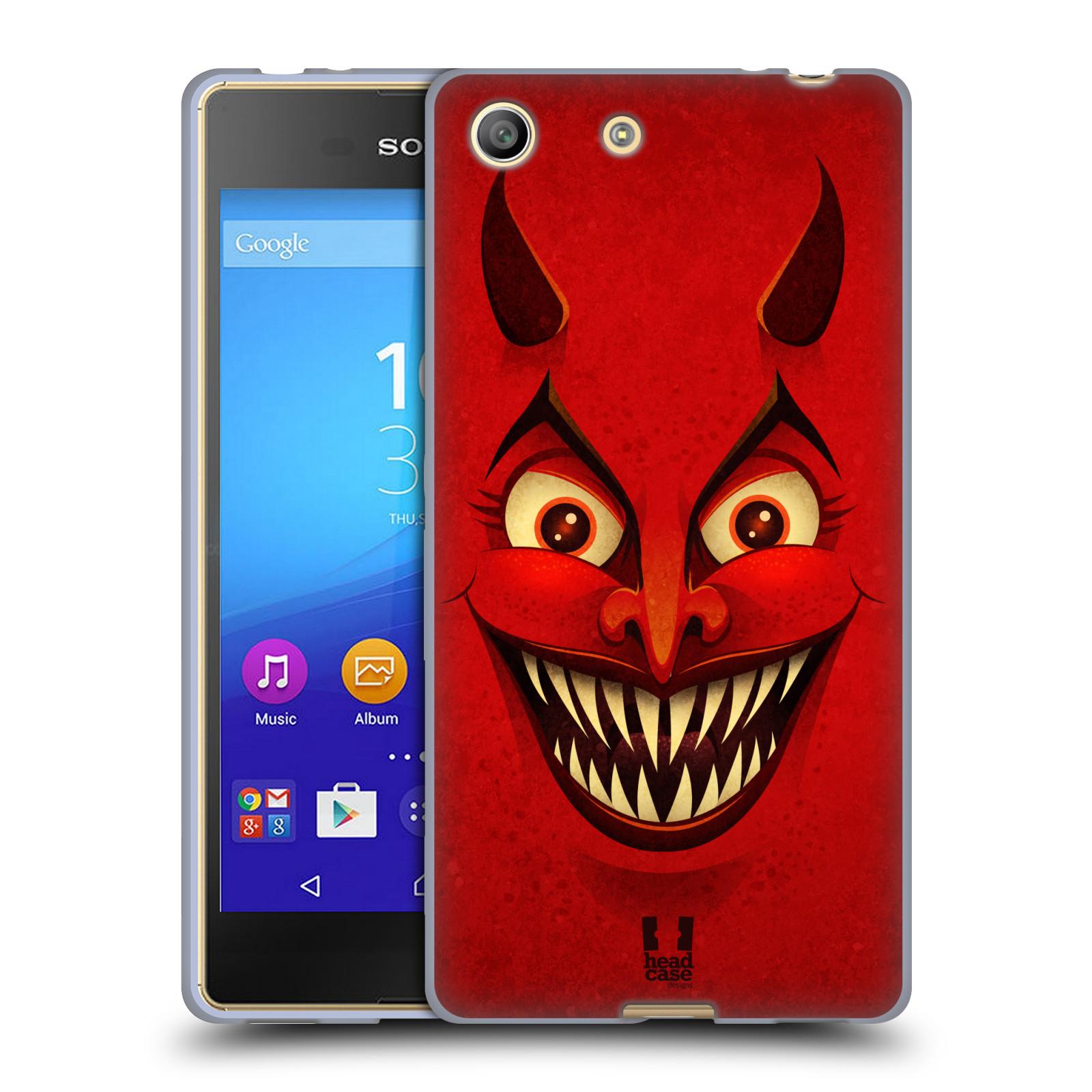 Silikonové pouzdro na mobil Sony Xperia M5 HEAD CASE ČERT (Silikonový kryt či obal na mobilní telefon Sony Xperia M5 Dual SIM / Aqua)