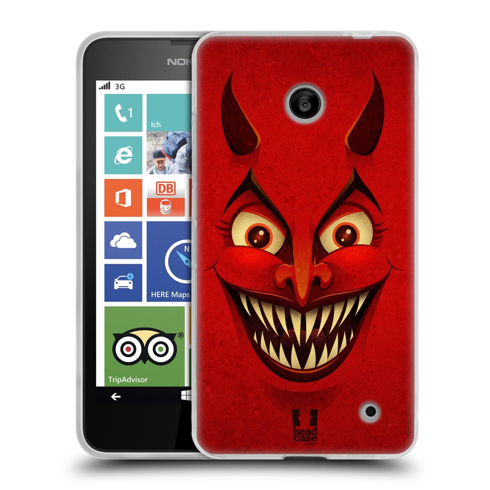 Silikonové pouzdro na mobil Nokia Lumia 630 HEAD CASE ČERT (Silikonový kryt či obal na mobilní telefon Nokia Lumia 630 a Nokia Lumia 630 Dual SIM)