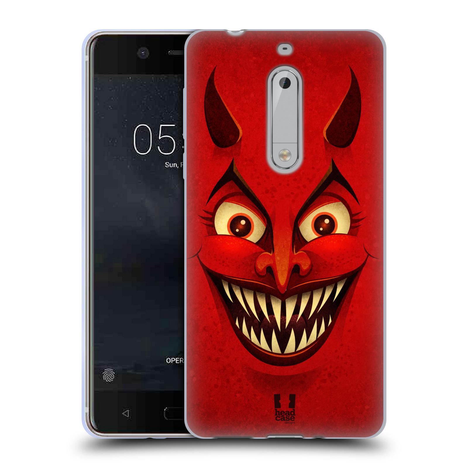 Silikonové pouzdro na mobil Nokia 5 Head Case - ČERT
