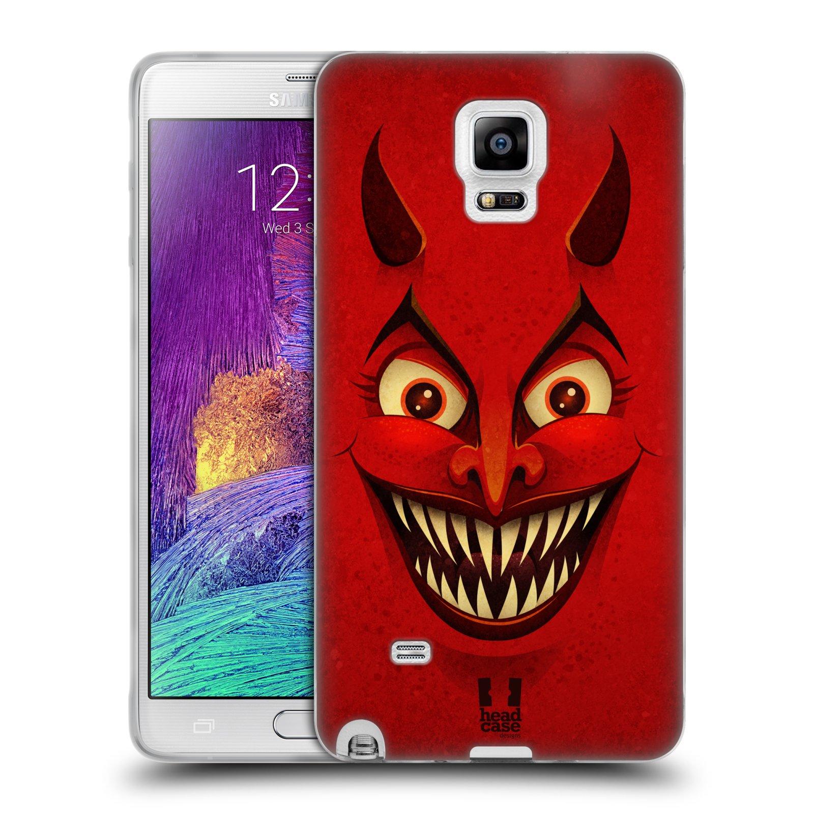 Silikonové pouzdro na mobil Samsung Galaxy Note 4 HEAD CASE ČERT (Silikonový kryt či obal na mobilní telefon Samsung Galaxy Note 4 SM-N910F)