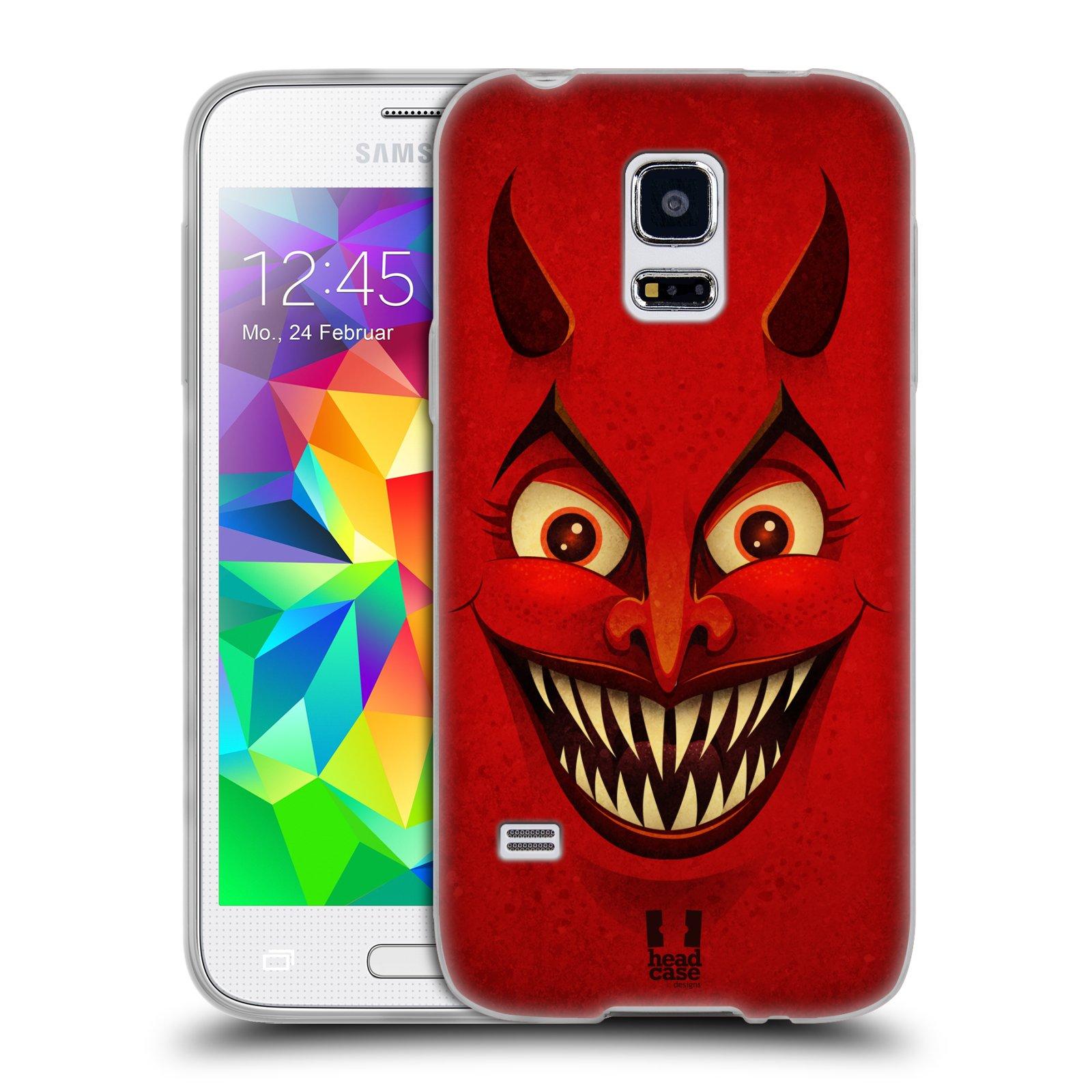 Silikonové pouzdro na mobil Samsung Galaxy S5 Mini HEAD CASE ČERT (Silikonový kryt či obal na mobilní telefon Samsung Galaxy S5 Mini SM-G800F)