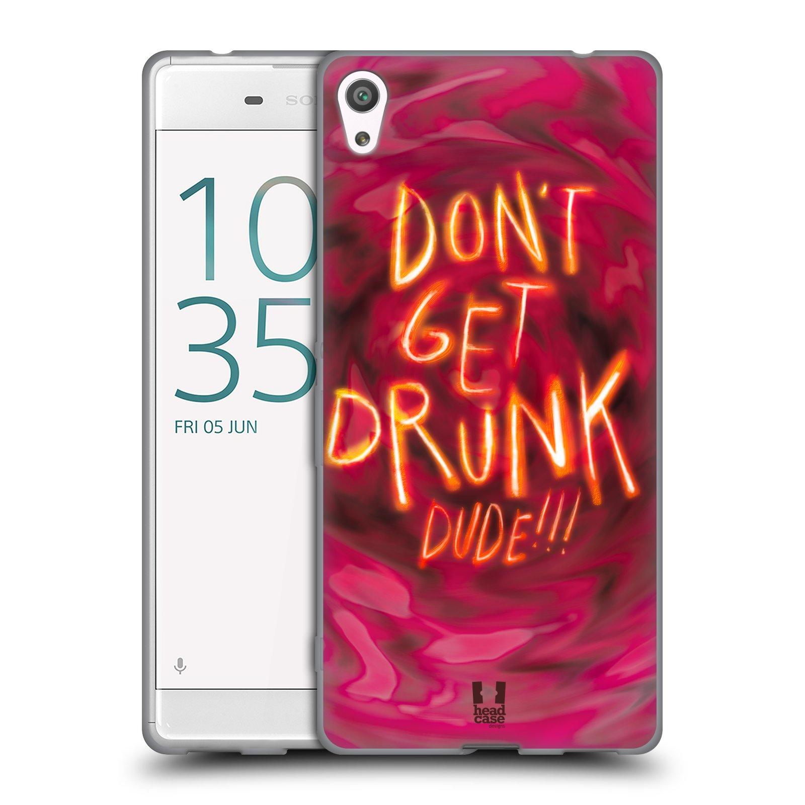 Silikonové pouzdro na mobil Sony Xperia XA Ultra HEAD CASE NEOPIJ SE (Silikonový kryt či obal na mobilní telefon Sony Xperia XA Ultra F3211)