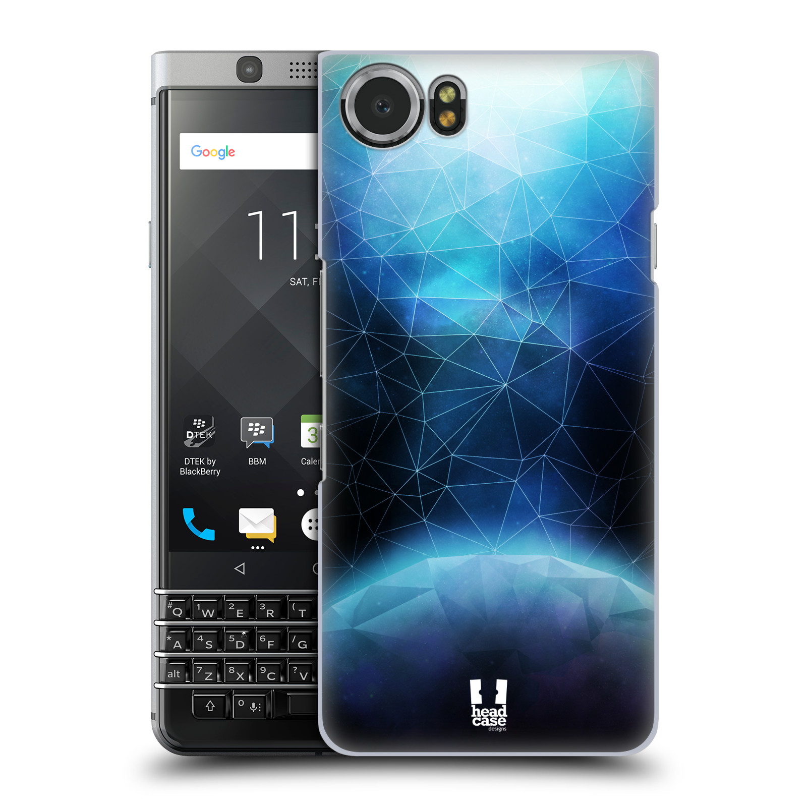 Plastové pouzdro na mobil BlackBerry KEYone - Head Case - UNIVERSE ABSORB