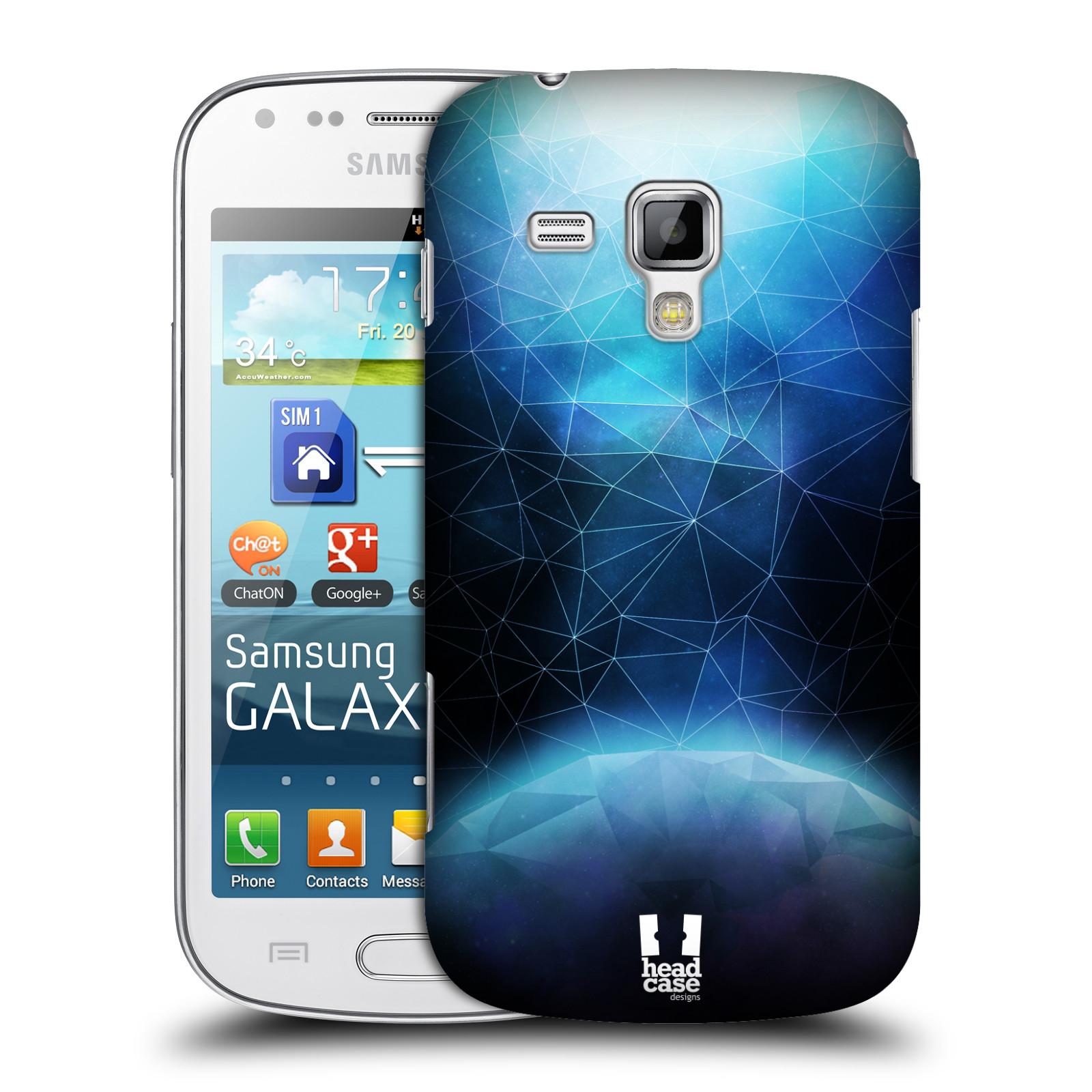 Plastové pouzdro na mobil Samsung Galaxy Trend Plus HEAD CASE UNIVERSE ABSORB