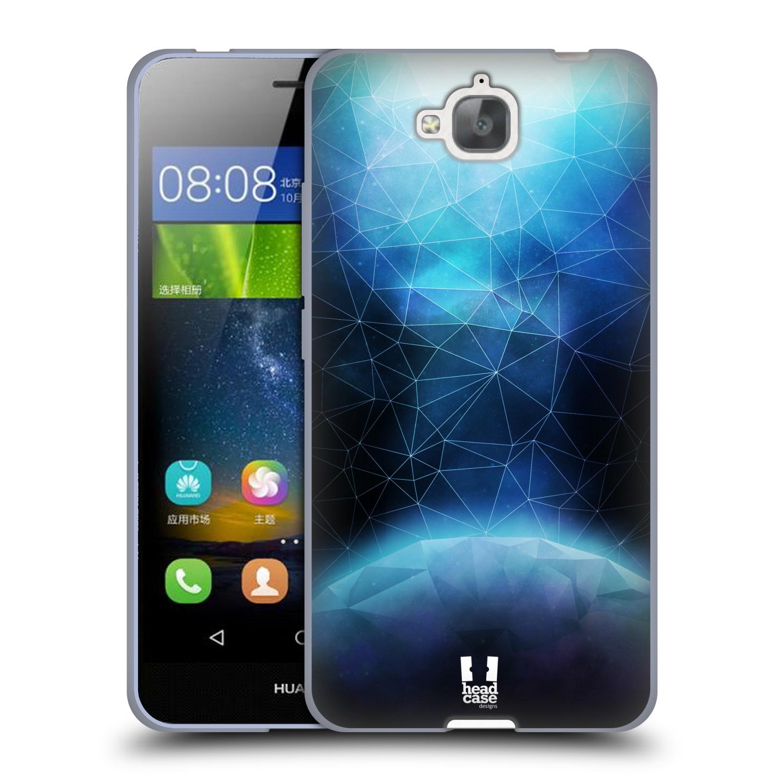 Silikonové pouzdro na mobil Huawei Y6 Pro Dual Sim HEAD CASE UNIVERSE ABSORB